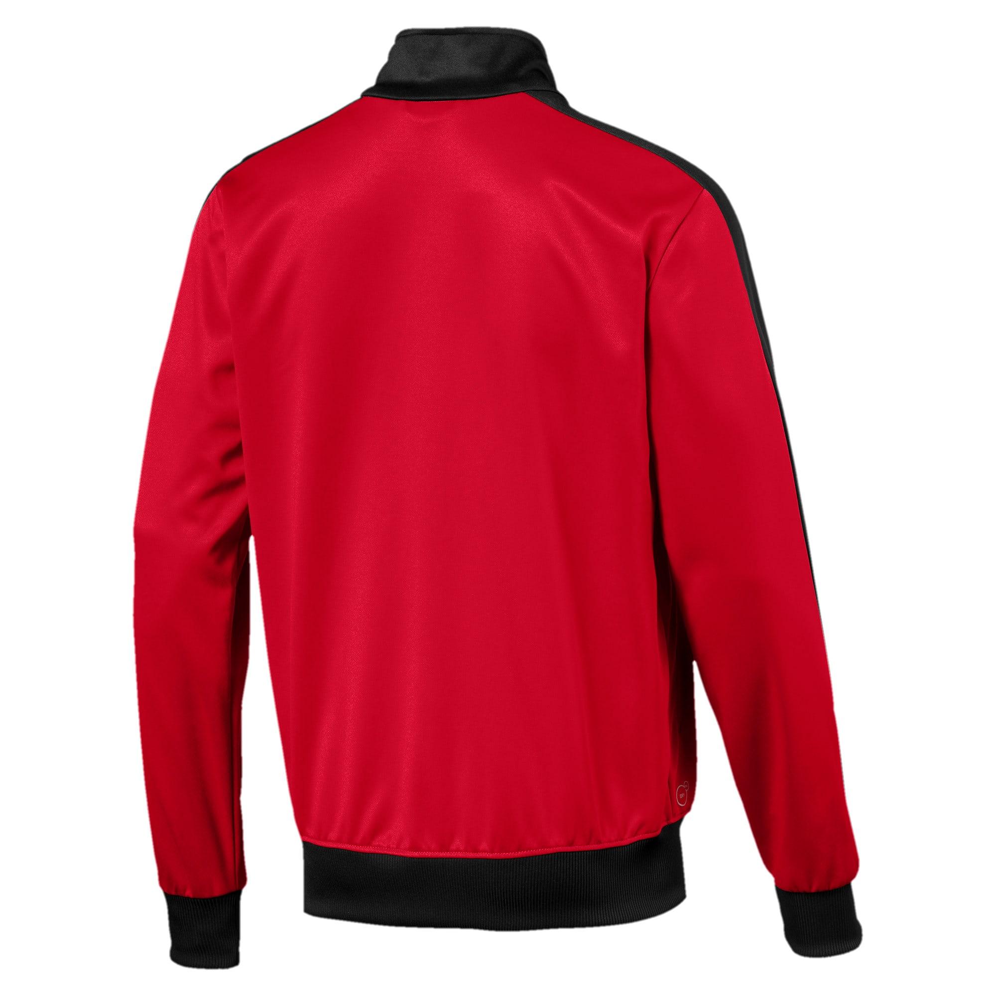Thumbnail 2 of AC Milan Men's T7 Track Jacket, Tango Red-Puma Black, medium