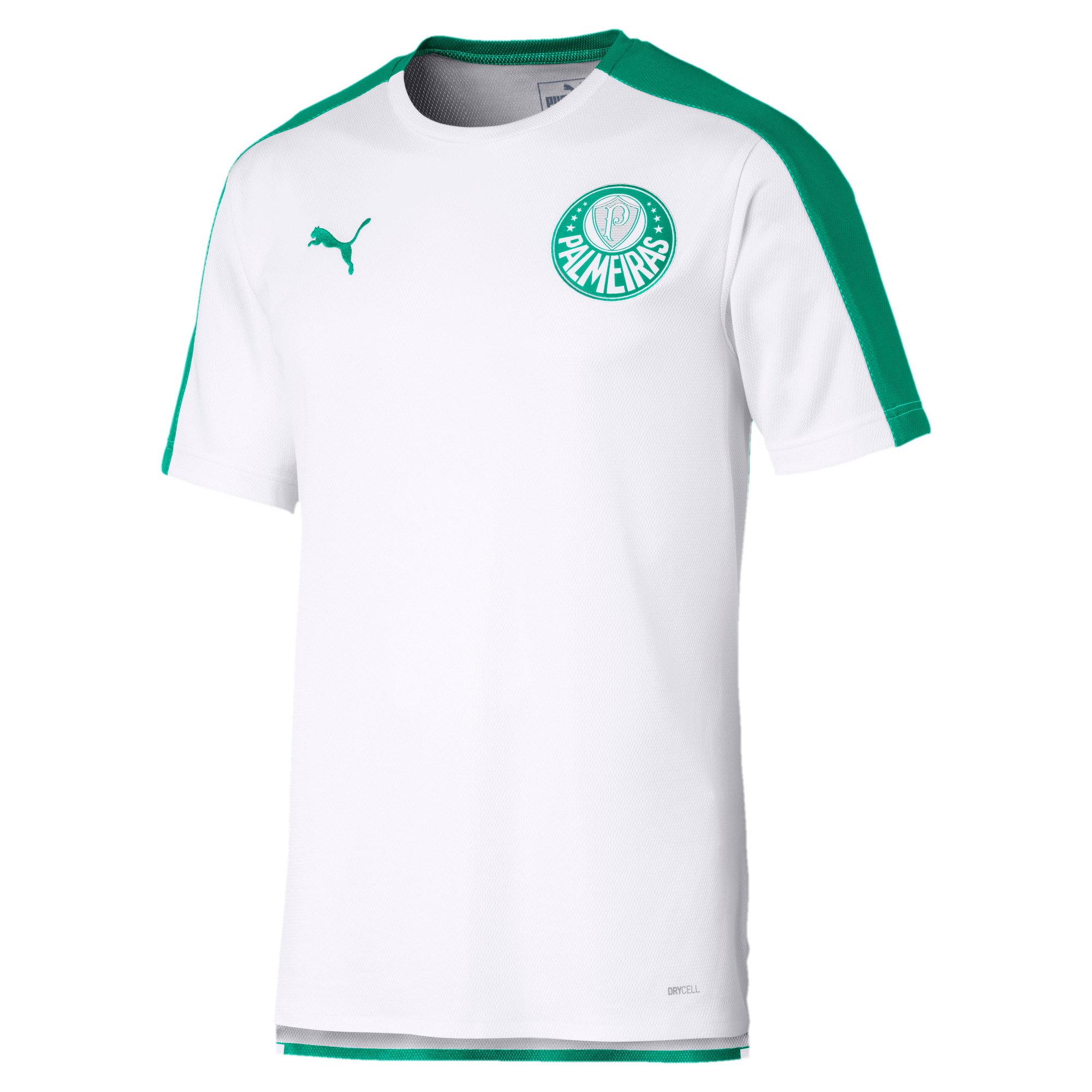 Thumbnail 1 of Palmeiras Stadium Tee, Puma White-Pepper Green, medium