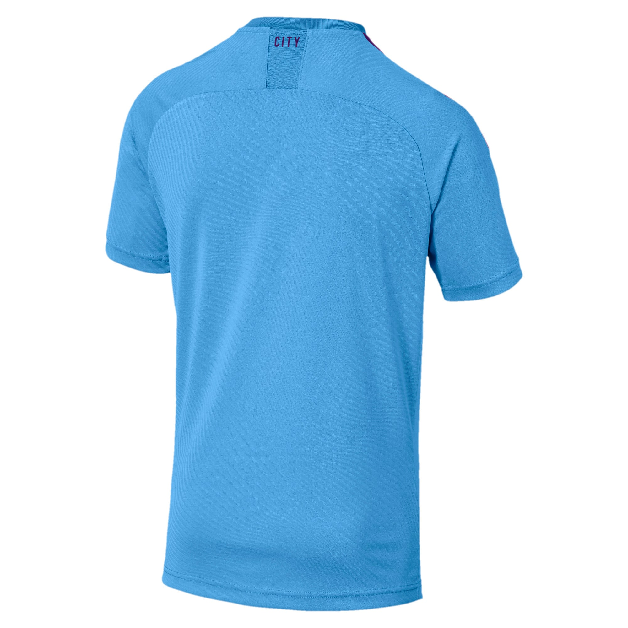 Thumbnail 2 of Manchester City FC Men's Home Replica Jersey, TeamLightBlue-TillandsiaPurp, medium