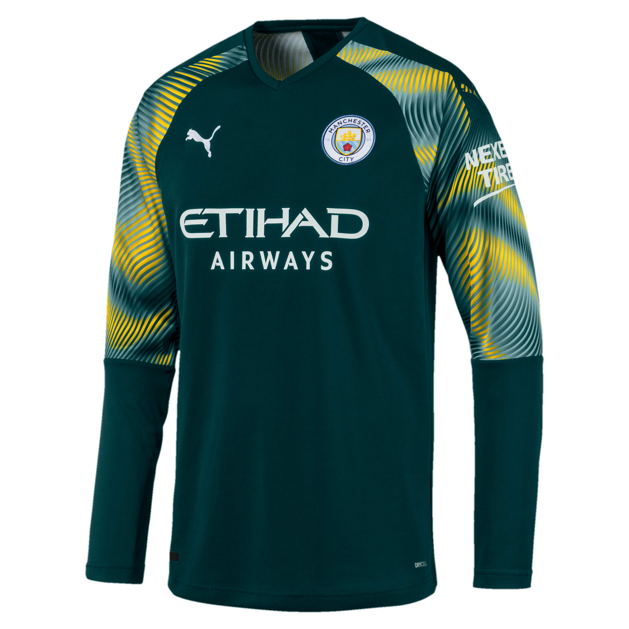 the best attitude 1ee50 74341 Man City Men's Replica Goalkeeper Jersey