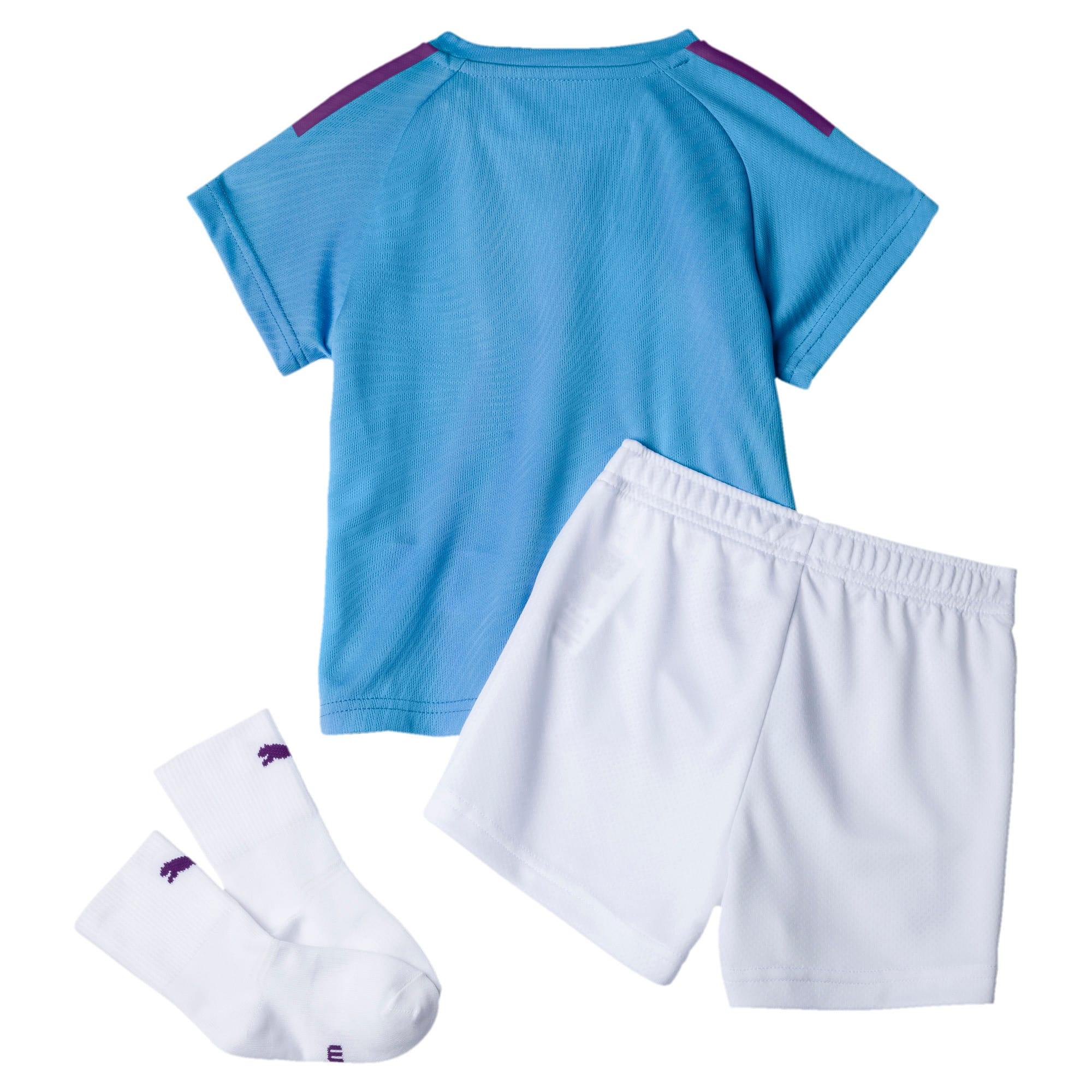 Thumbnail 2 of Man City Babies' Home Mini Kit, TeamLightBlue-TillandsiaPurp, medium
