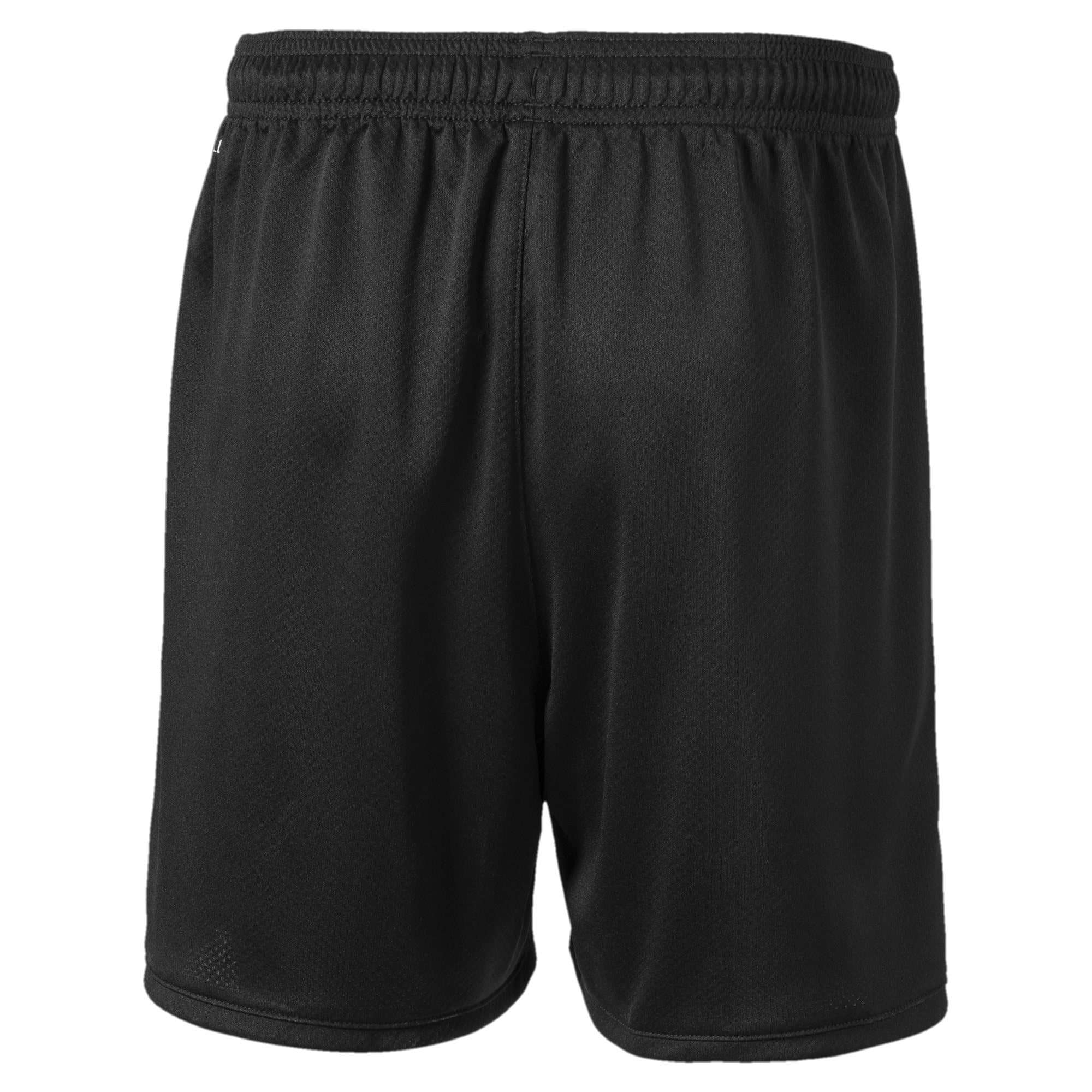 Thumbnail 2 of Manchester City FC Kids' Third Replica Shorts, Puma Black-Georgia Peach, medium