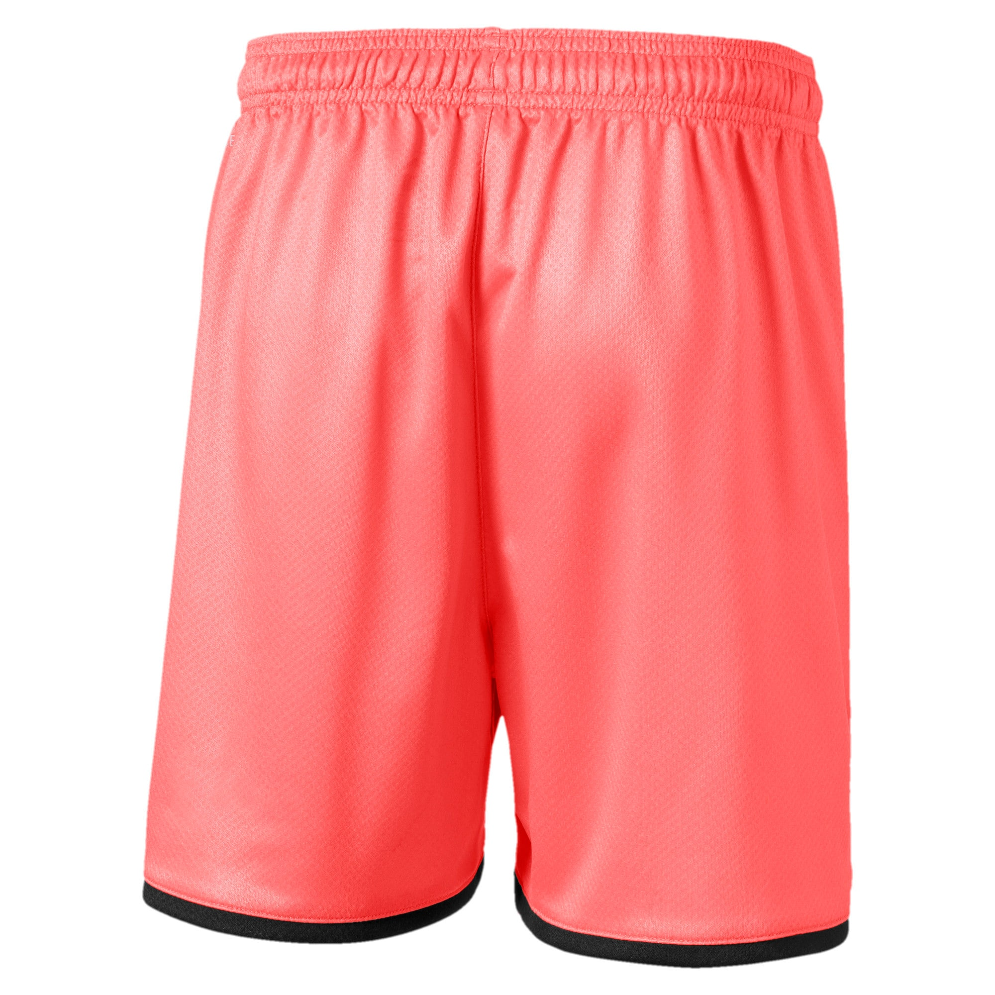 Thumbnail 2 of Manchester City FC Kids' Third Replica Shorts, Georgia Peach-Puma Black, medium