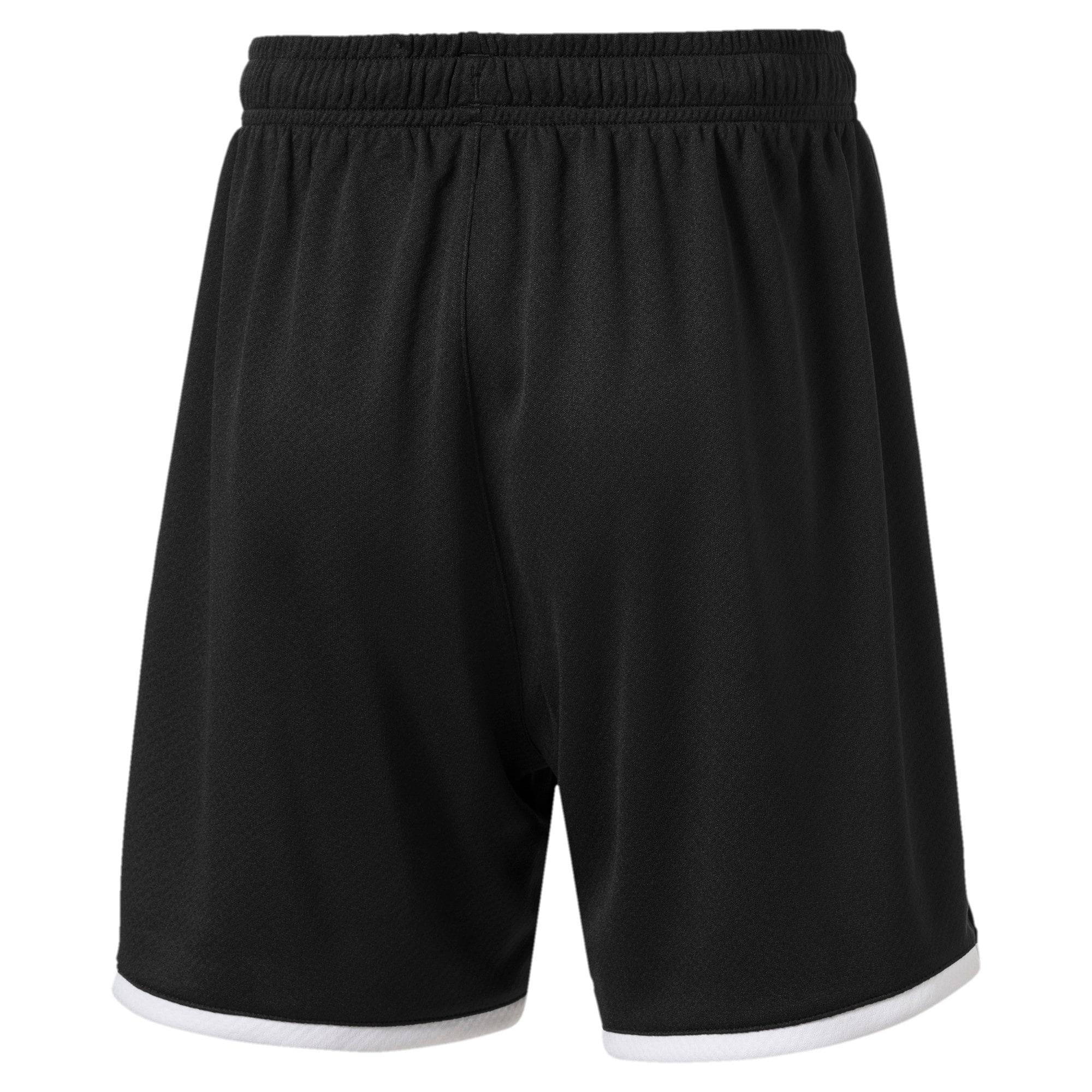 Thumbnail 2 of Borussia Mönchengladbach Boys' Replica Shorts, Puma Black, medium