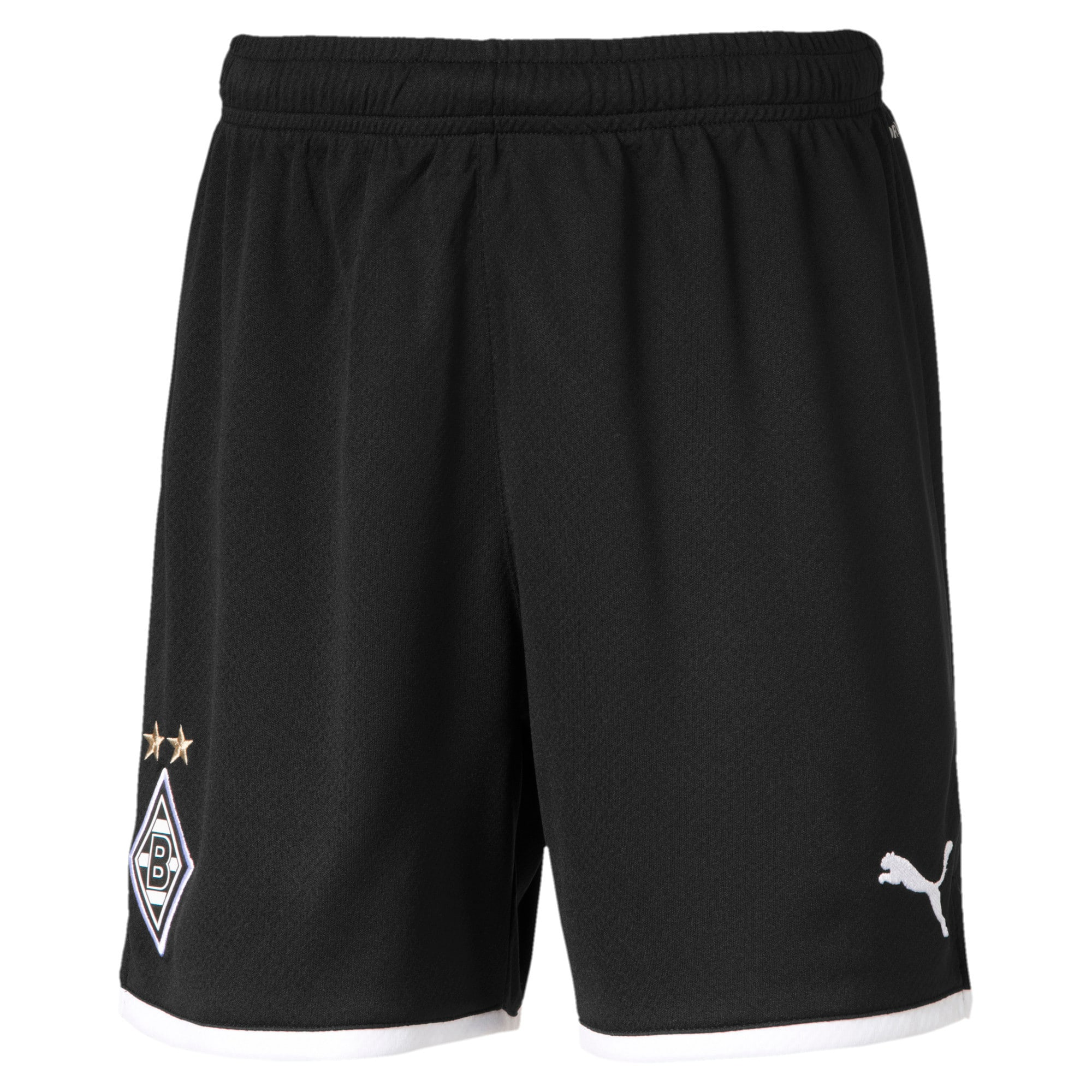 Thumbnail 1 of Borussia Mönchengladbach Boys' Replica Shorts, Puma Black, medium