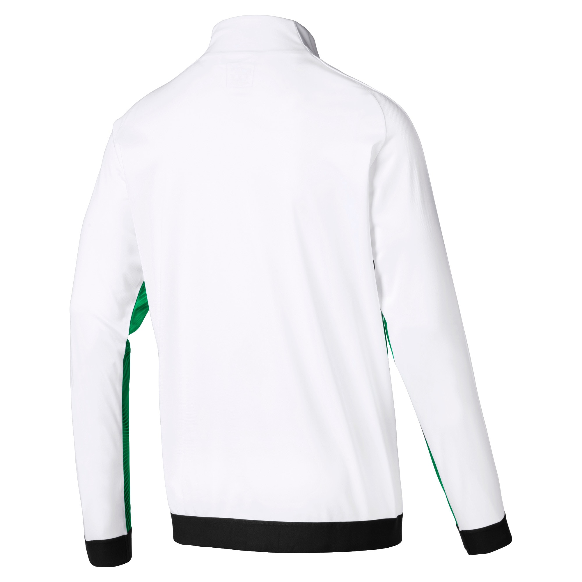 Thumbnail 2 of Borussia Mönchengladbach Men's Stadium Jacket, Bright Green-Puma Black, medium