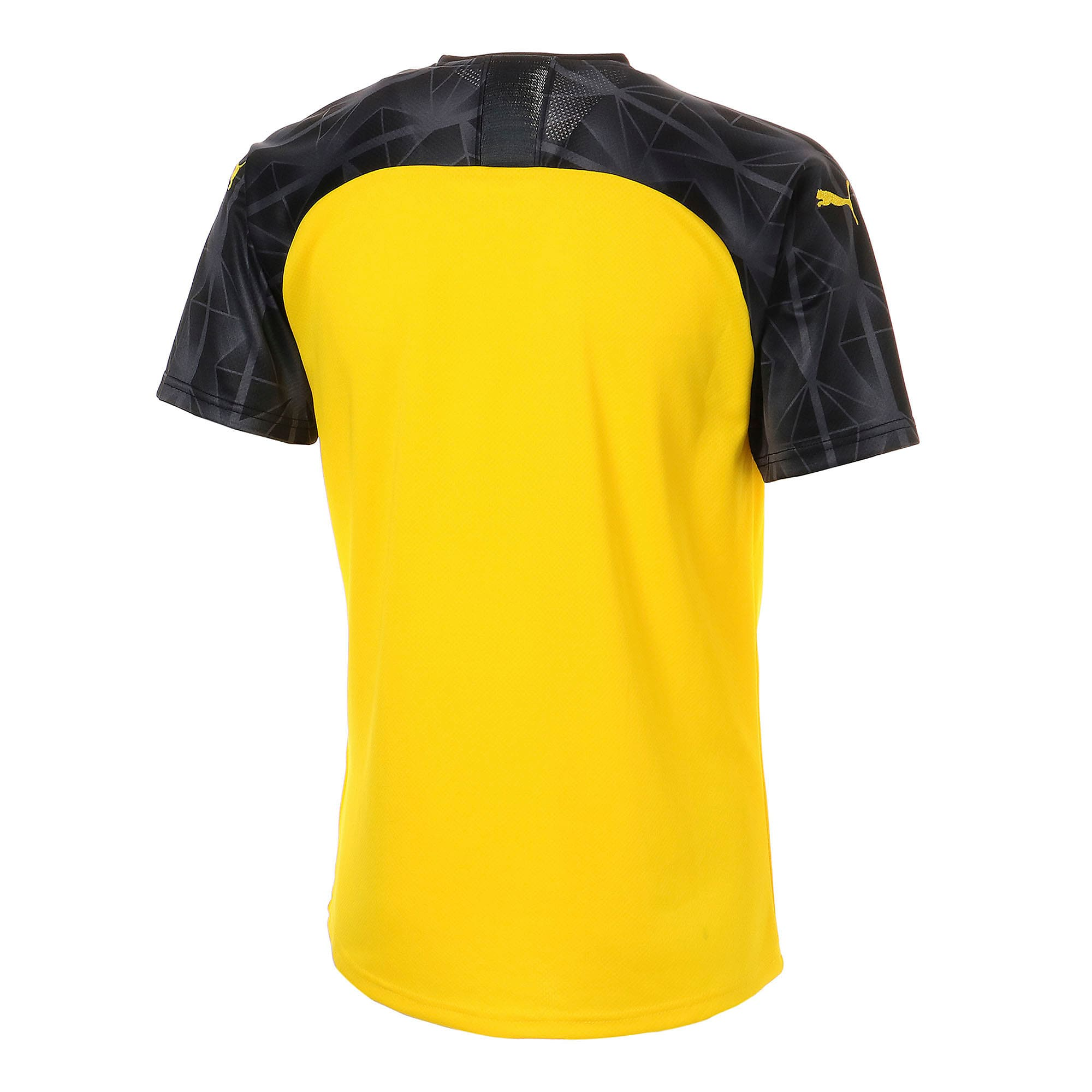 Thumbnail 3 of ドルトムント BVB SS カップ レプリカシャツ (半袖), Cyber Yellow-Puma Black, medium-JPN
