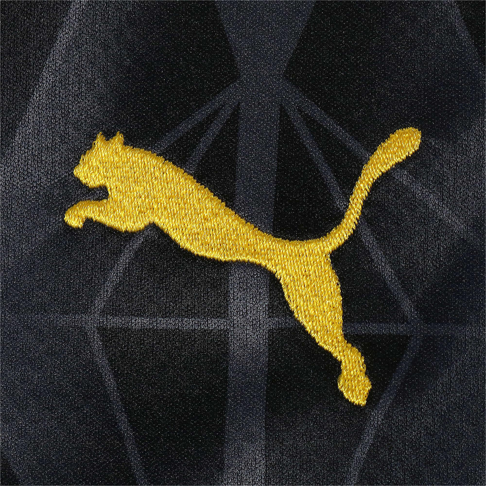 Thumbnail 4 of ドルトムント BVB SS カップ レプリカシャツ (半袖), Cyber Yellow-Puma Black, medium-JPN