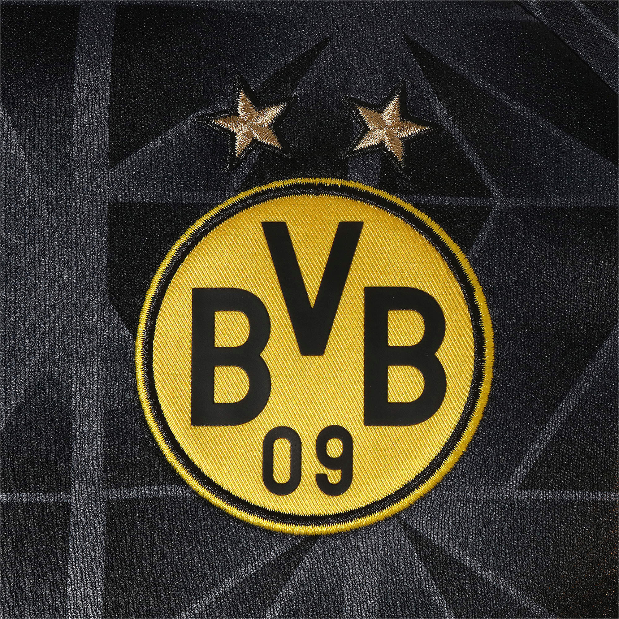 Thumbnail 8 of ドルトムント BVB SS カップ レプリカシャツ (半袖), Cyber Yellow-Puma Black, medium-JPN