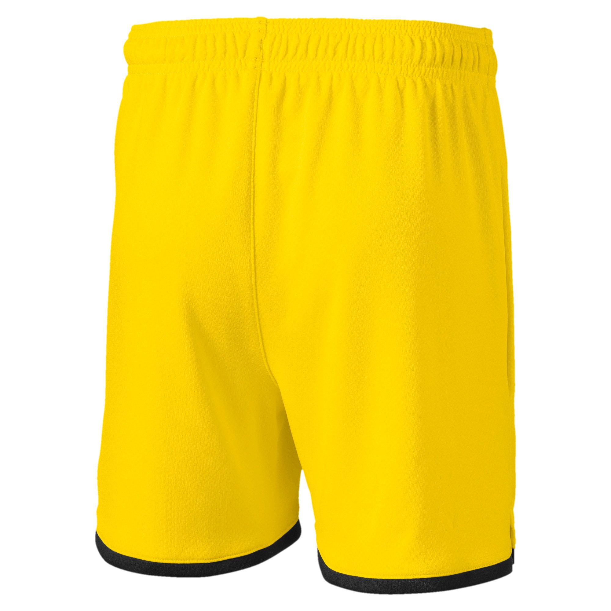 Thumbnail 2 of BVB Boys' Replica Shorts, Cyber Yellow-Puma Black, medium