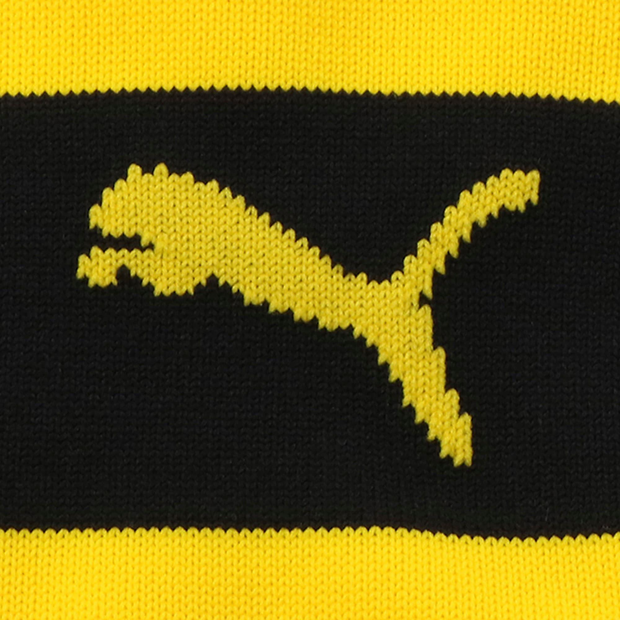 Thumbnail 2 of BVB フープド ストッキング, Cyber Yellow-Puma Black, medium-JPN