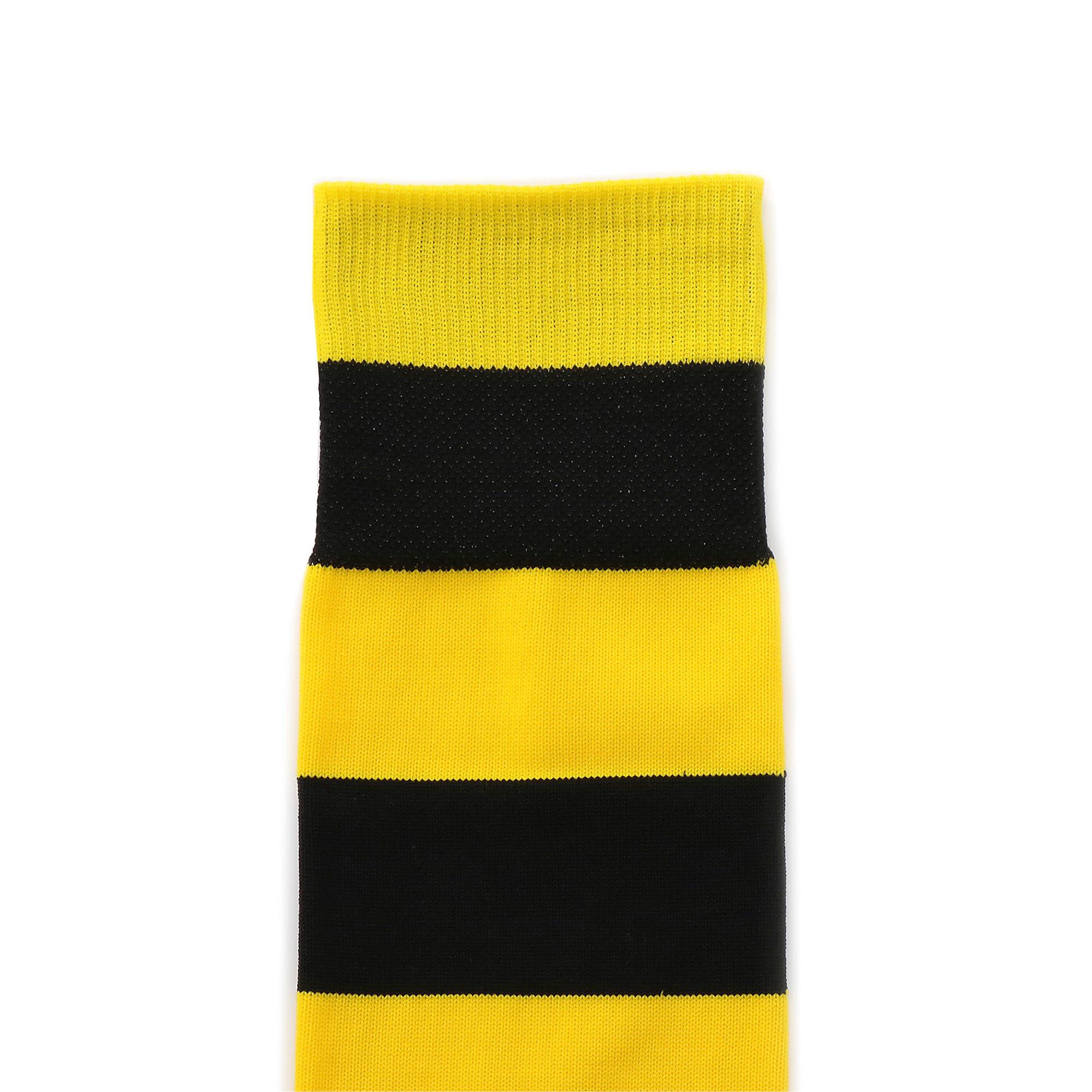 Thumbnail 3 of BVB フープド ストッキング, Cyber Yellow-Puma Black, medium-JPN