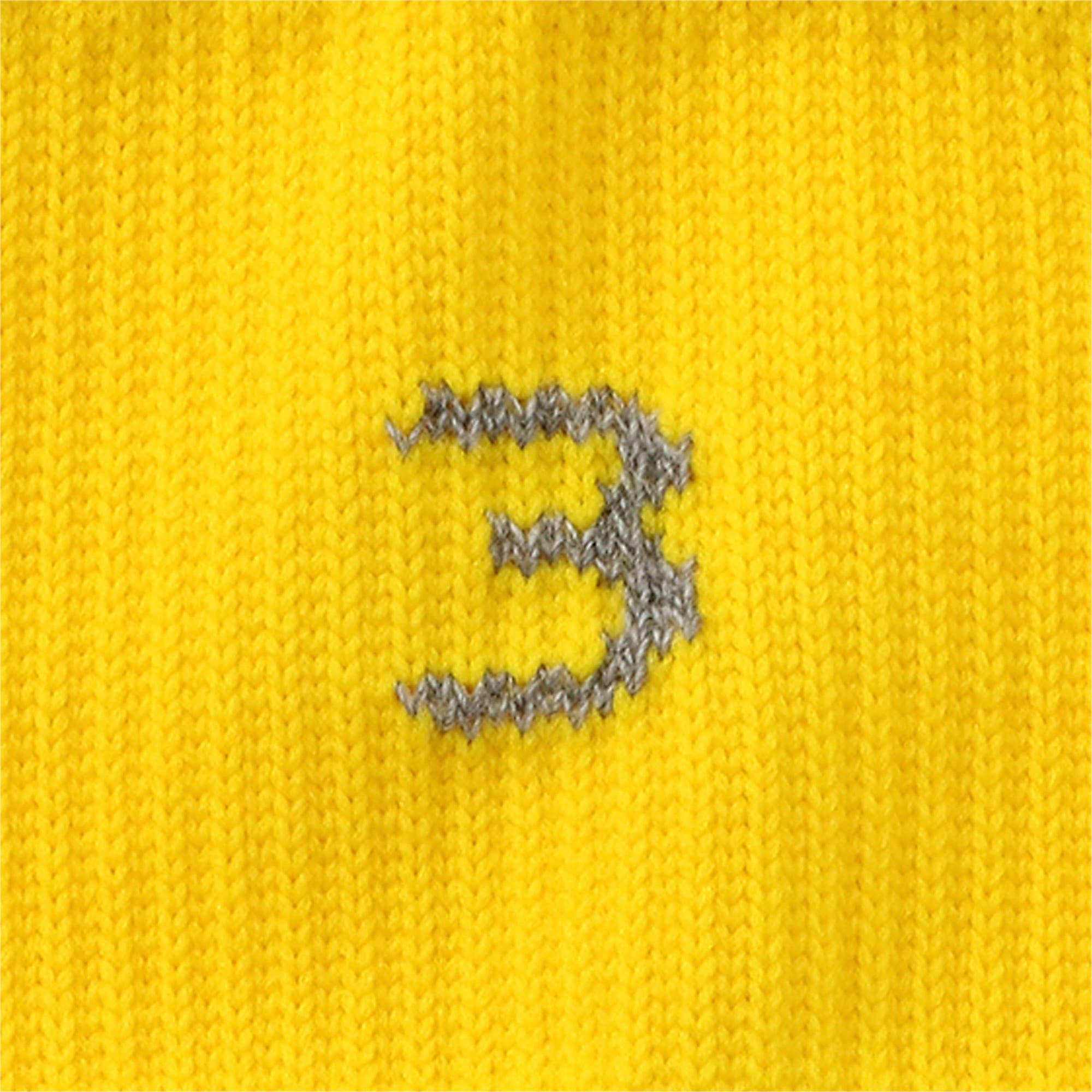 Thumbnail 6 of BVB フープド ストッキング, Cyber Yellow-Puma Black, medium-JPN