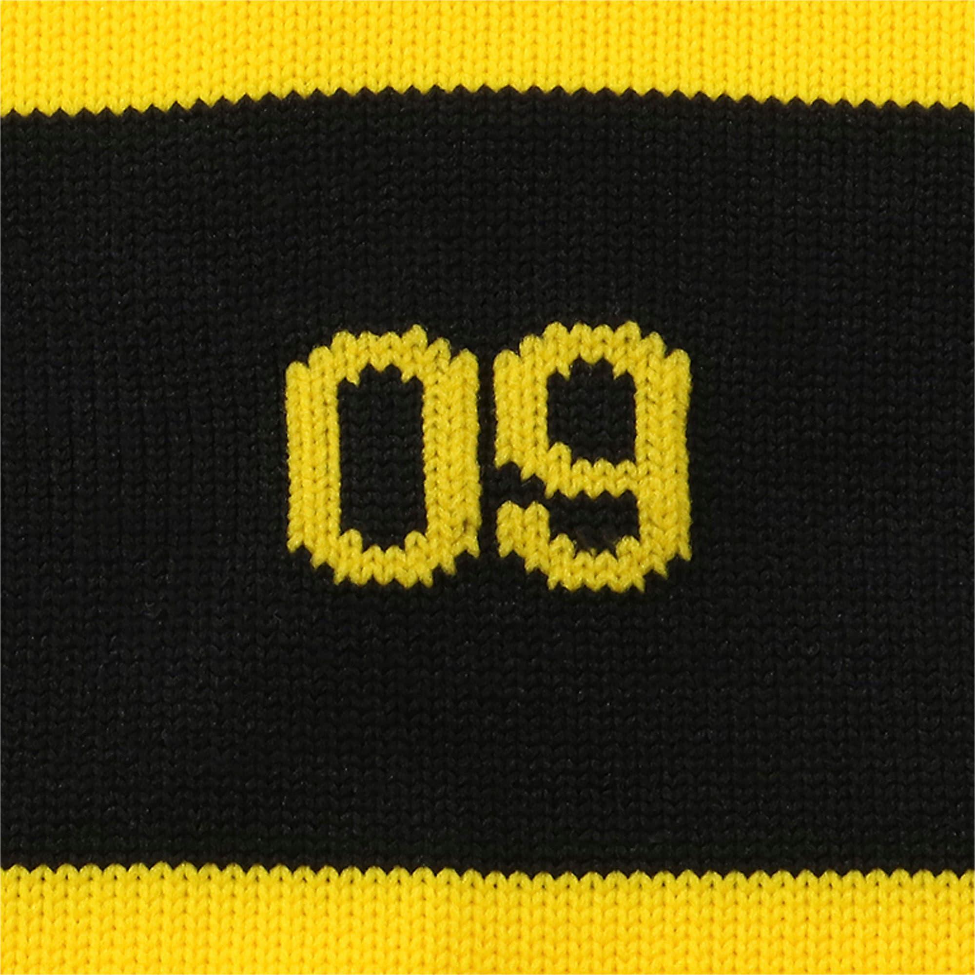 Thumbnail 7 of BVB フープド ストッキング, Cyber Yellow-Puma Black, medium-JPN
