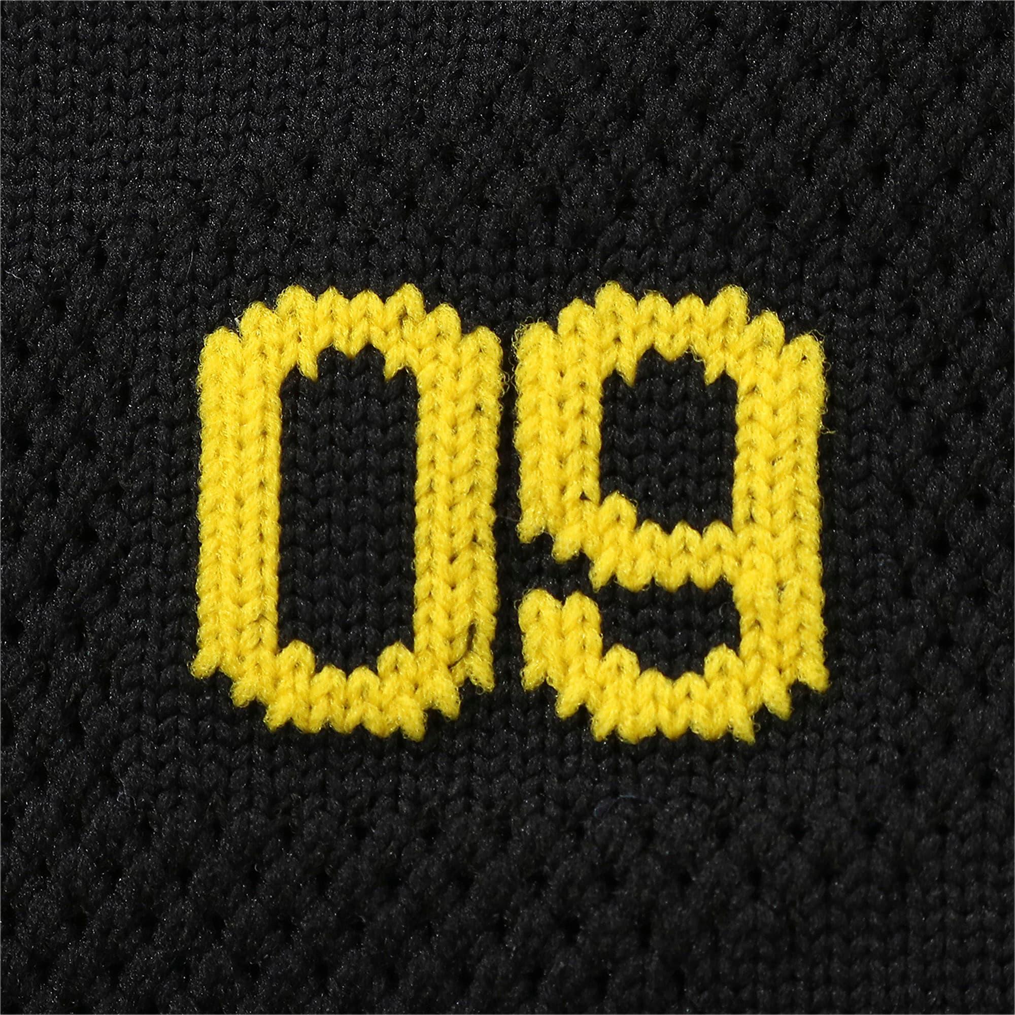 Thumbnail 7 of ドルトムント BVB スパイラル ストッキング, Puma Black-Cyber Yellow, medium-JPN
