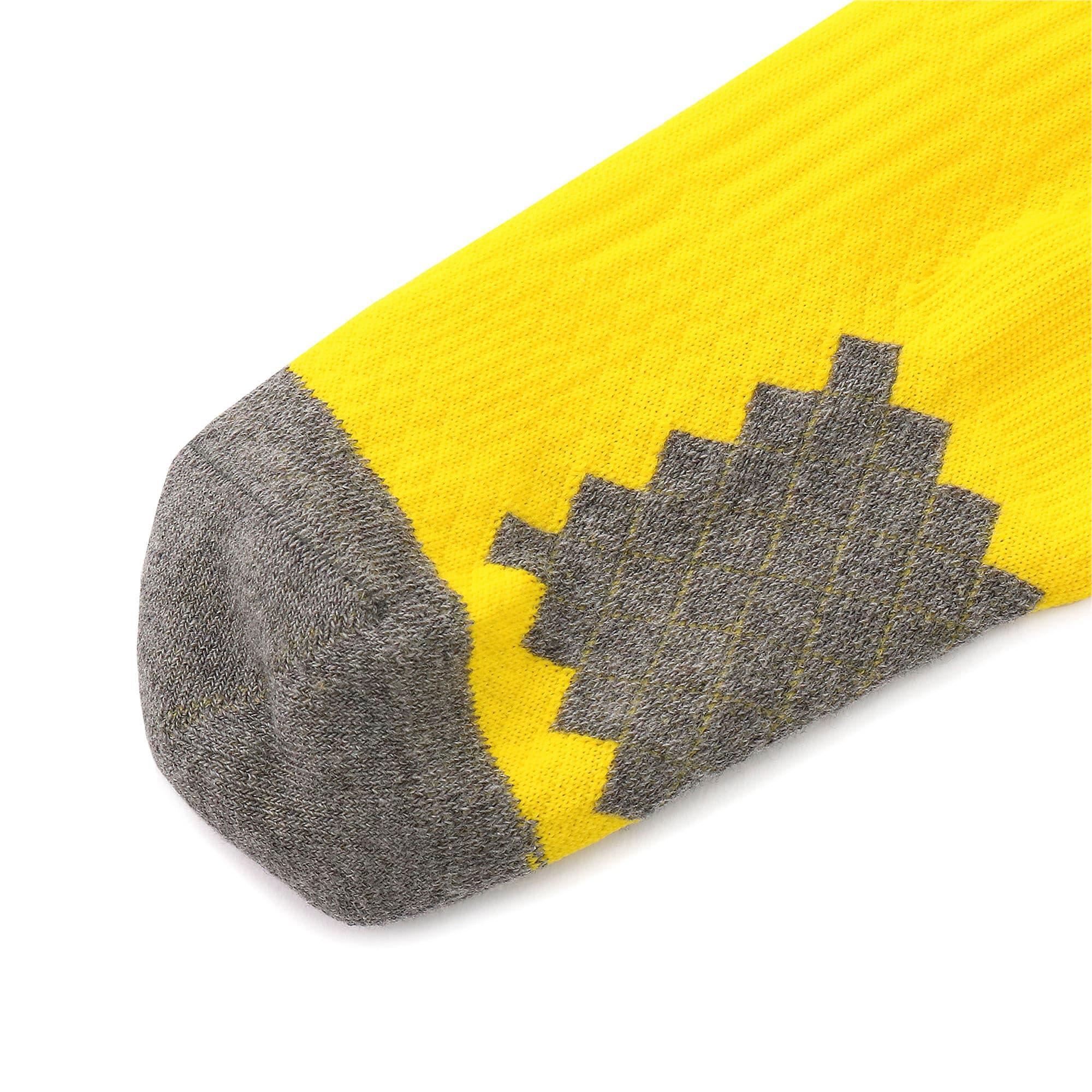 Thumbnail 6 of ドルトムント BVB スパイラル ストッキング, Cyber Yellow-Puma Black, medium-JPN