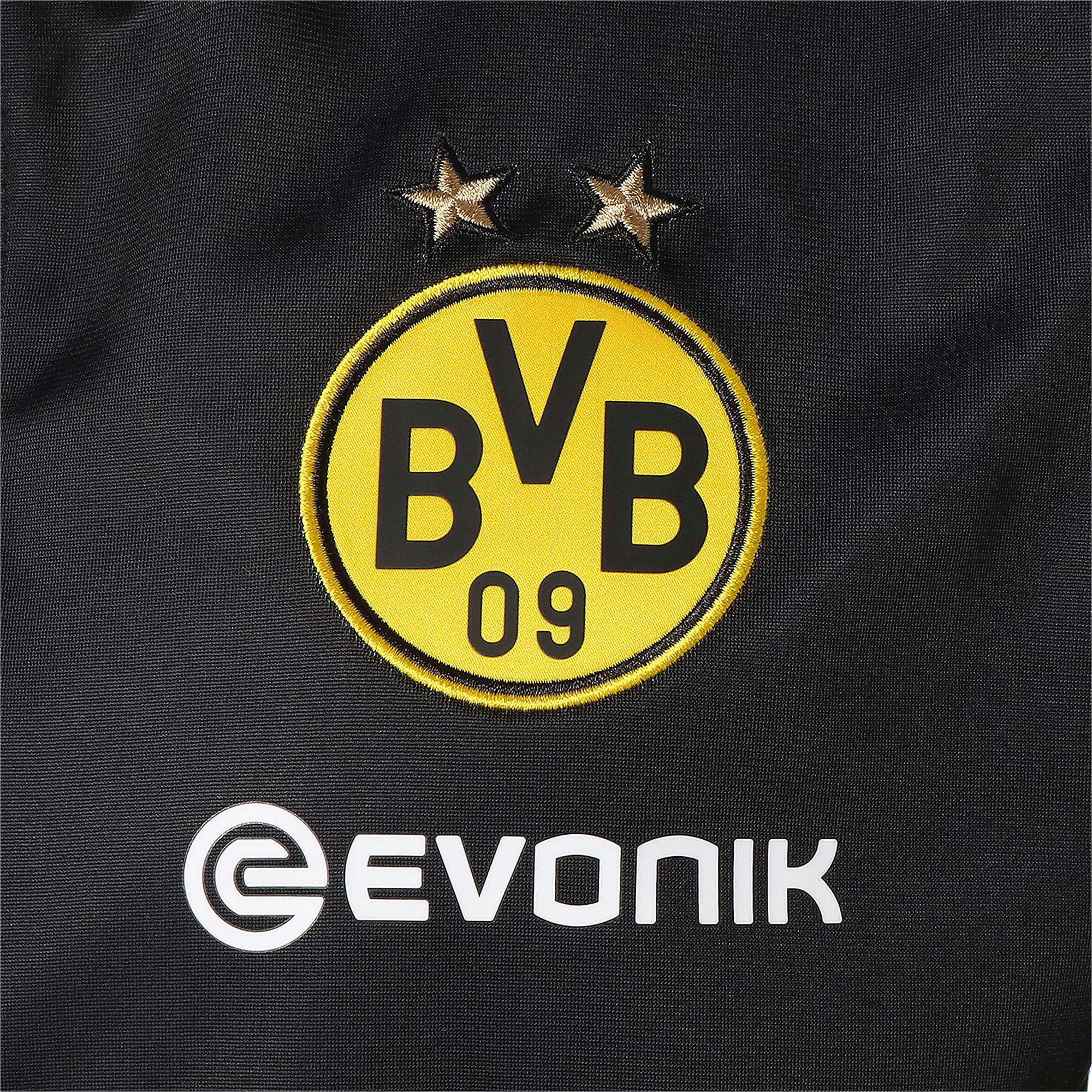 Thumbnail 8 of ドルトムント BVB INT スタジアム ジャケット, Puma Black-Cyber Yellow, medium-JPN