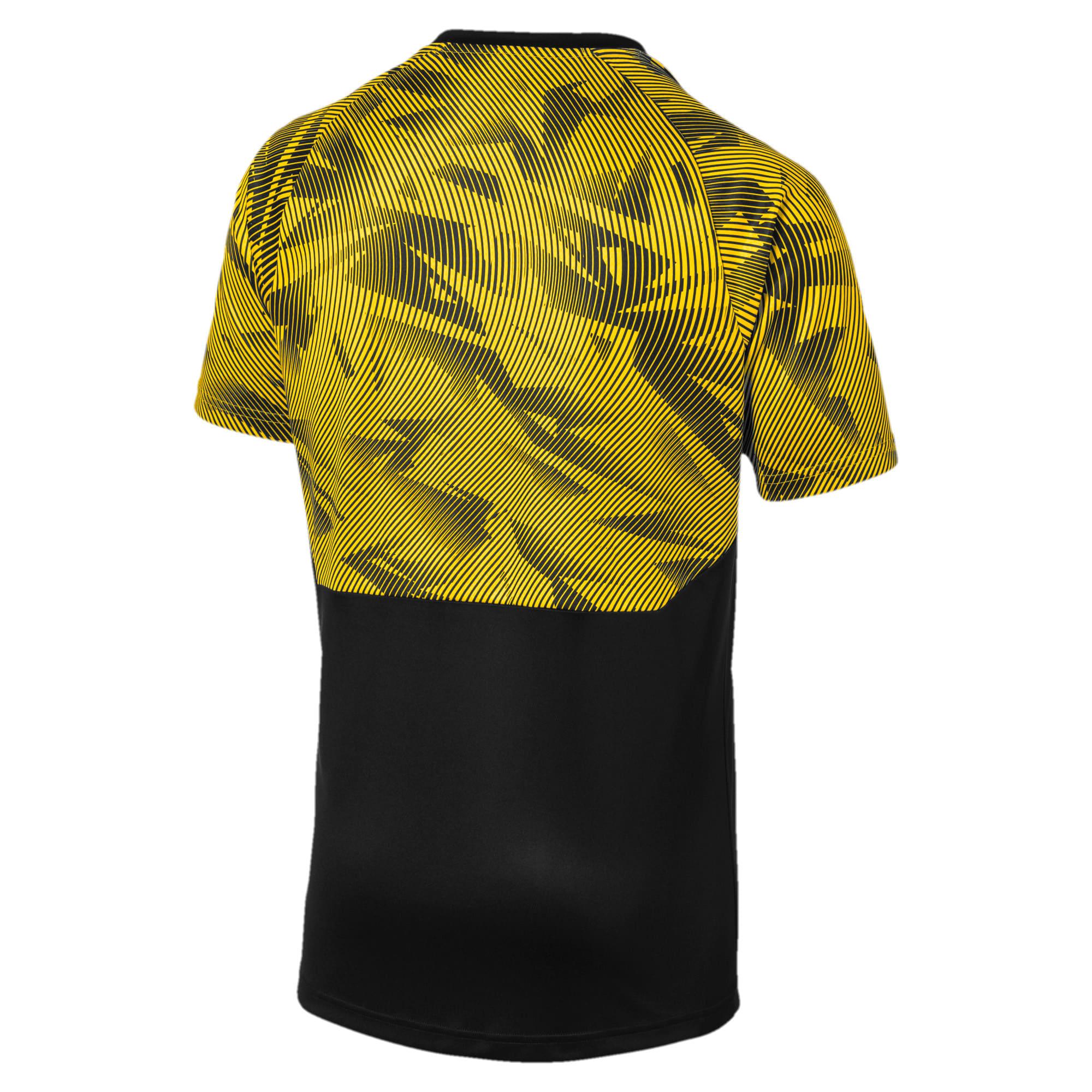 Miniatura 5 de Camiseta de entrenamiento BVB para hombre, Puma Black-Cyber Yellow, mediano