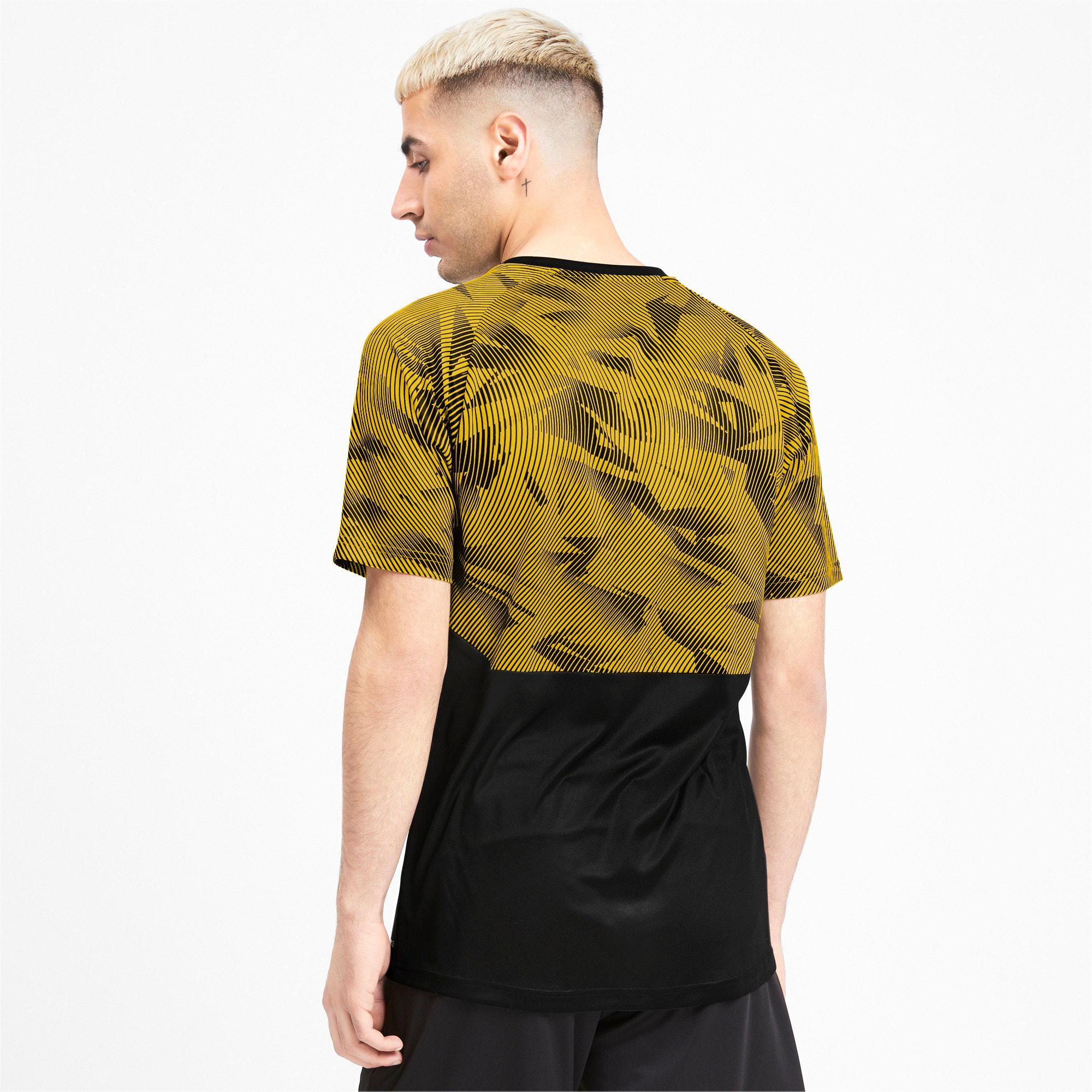 Miniatura 2 de Camiseta de entrenamiento BVB para hombre, Puma Black-Cyber Yellow, mediano