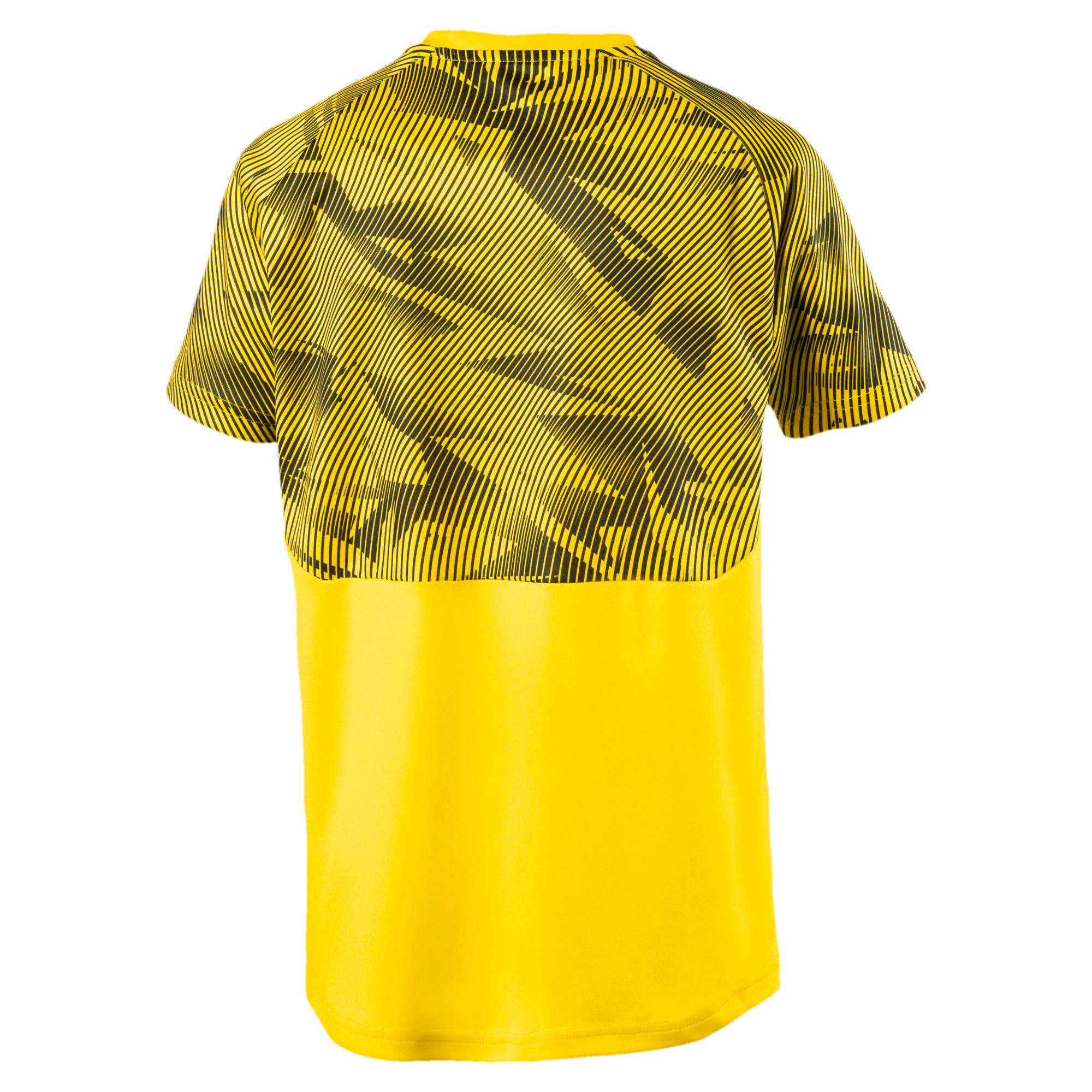 Thumbnail 2 of BVB Kids' Training Jersey, Cyber Yellow-Puma Black, medium