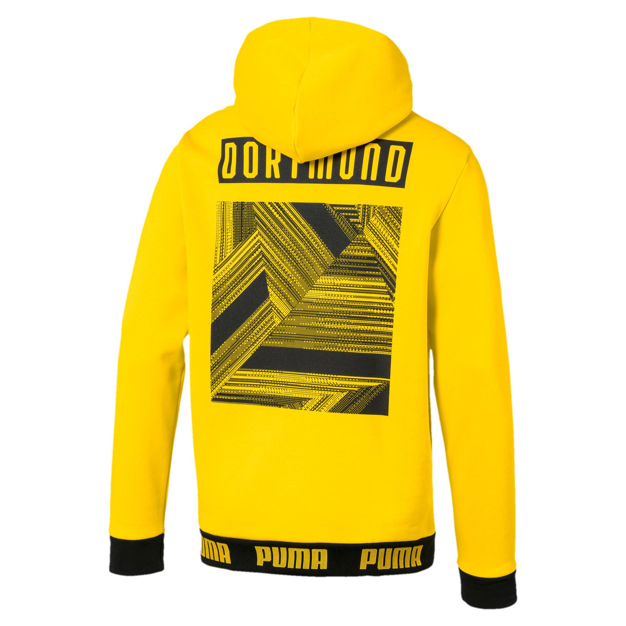 Thumbnail 5 of BVB Football Culture Men's Hoodie, Cyber Yellow, medium