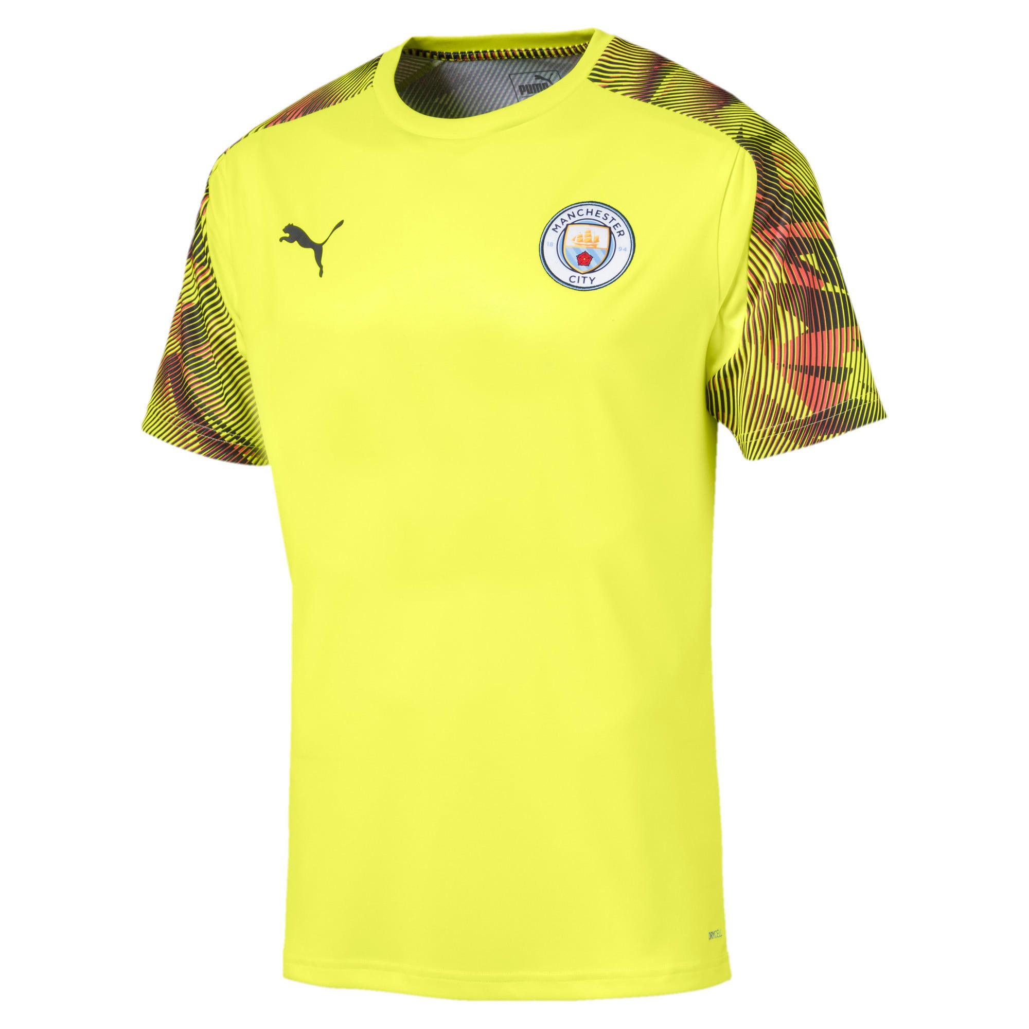 Imagen en miniatura 1 de Camiseta de training de hombre Man City, Fizzy Yellow-Asphalt, mediana