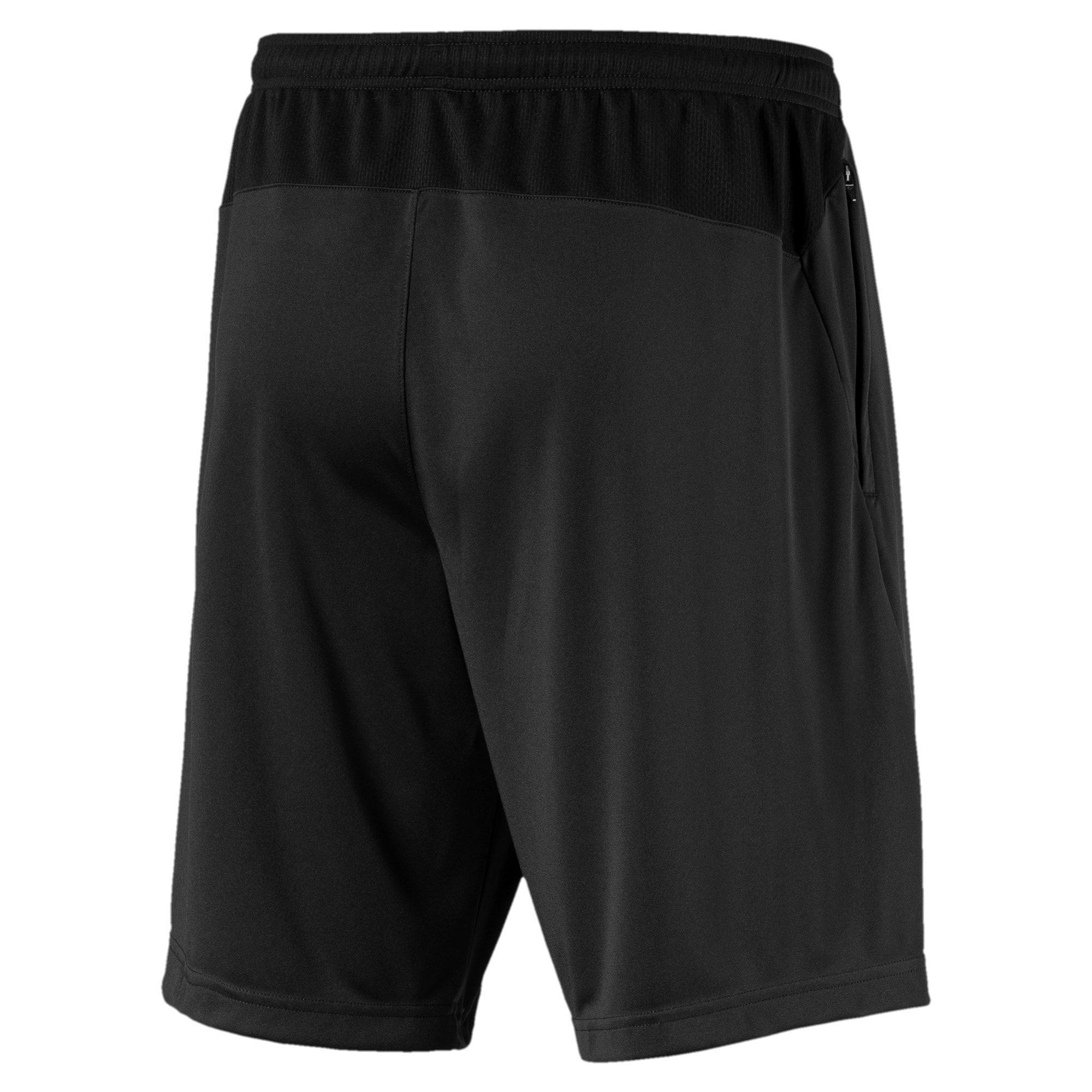 Miniatura 2 de Shorts de entrenamiento Manchester City FC para hombre, Puma Black-Team Light Blue, mediano