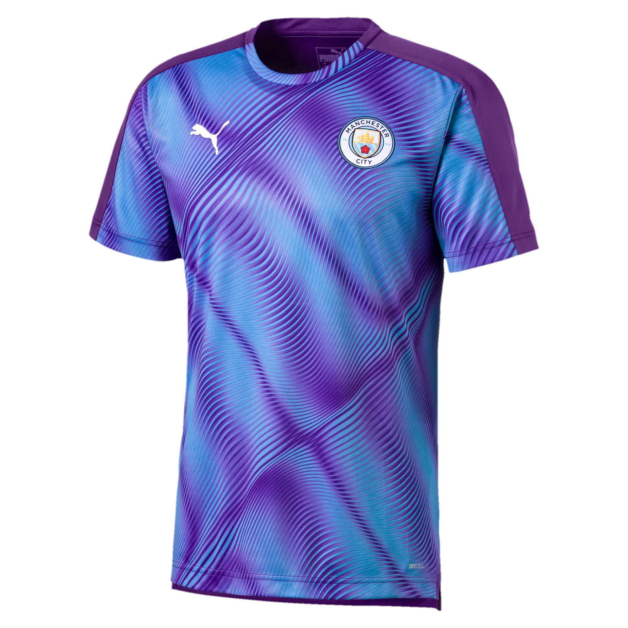 Thumbnail 1 van Man City Stadium League shirt voor heren, TillandsiaPurple-TeamLightBl, medium