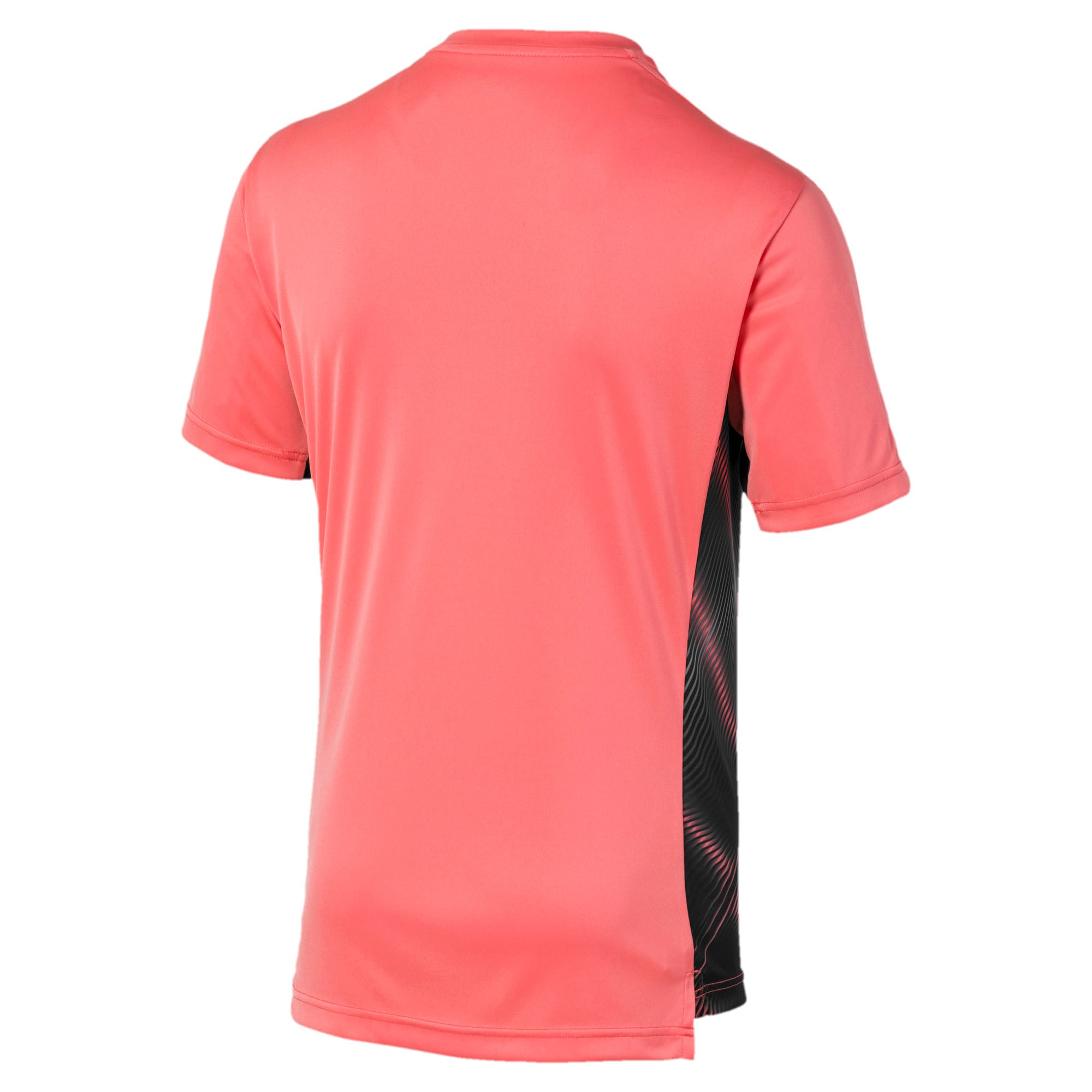 Thumbnail 2 van Man City Stadium League shirt voor heren, Georgia Peach-Puma Black, medium