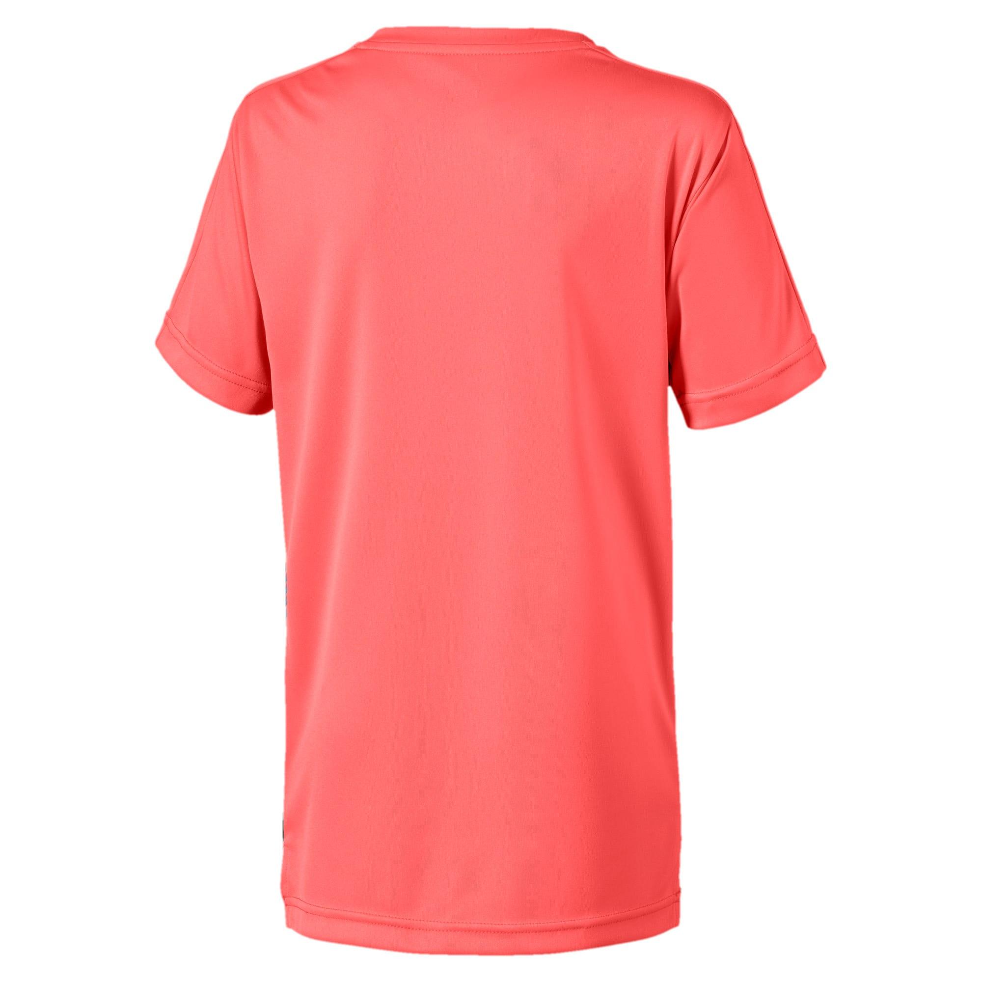 Thumbnail 2 van Man City Stadium League shirt voor kinderen, Georgia Peach-Puma Black, medium