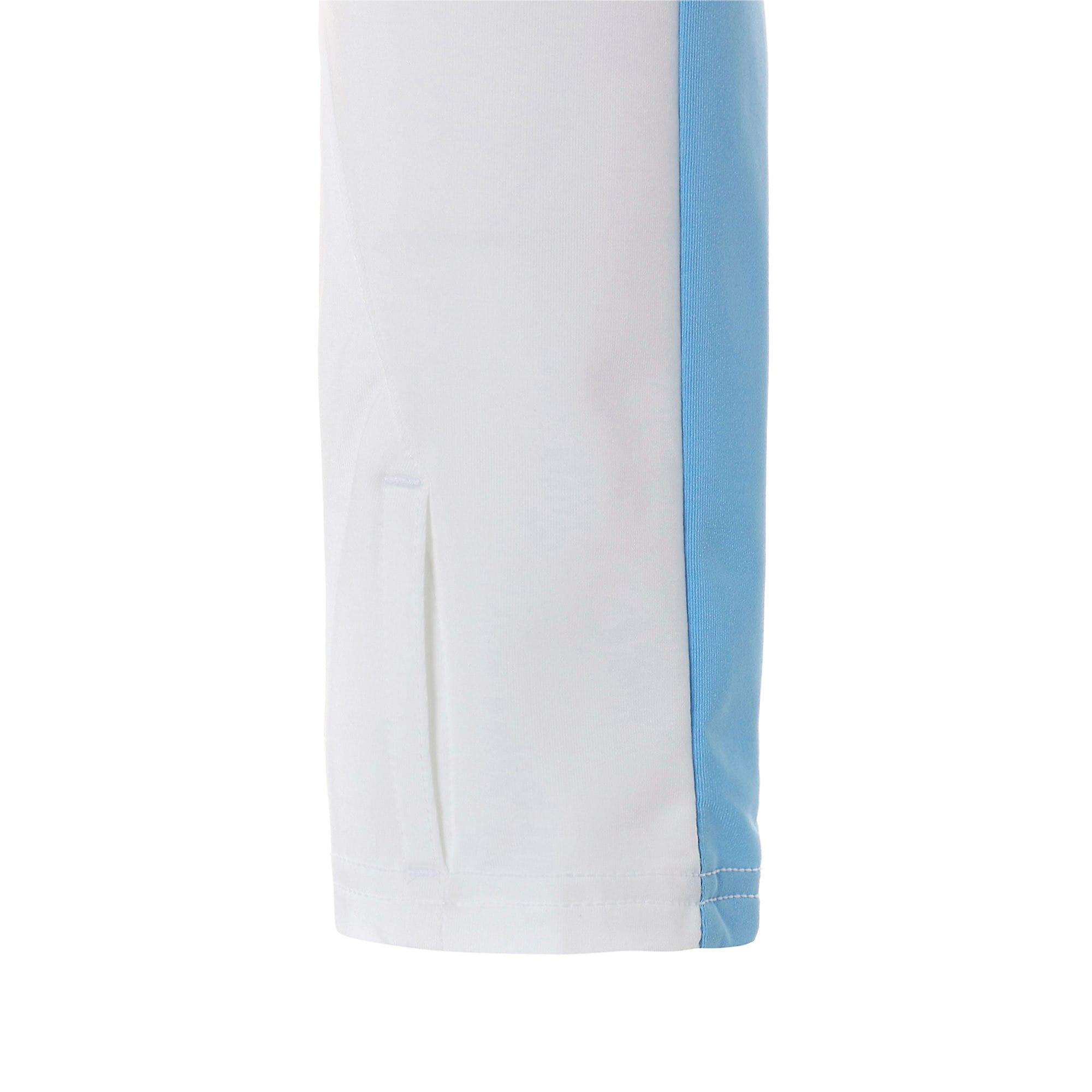 Thumbnail 5 of マンチェスター・シティ MCFC 1/4 ジップ トップ, Puma White-Team Light Blue, medium-JPN