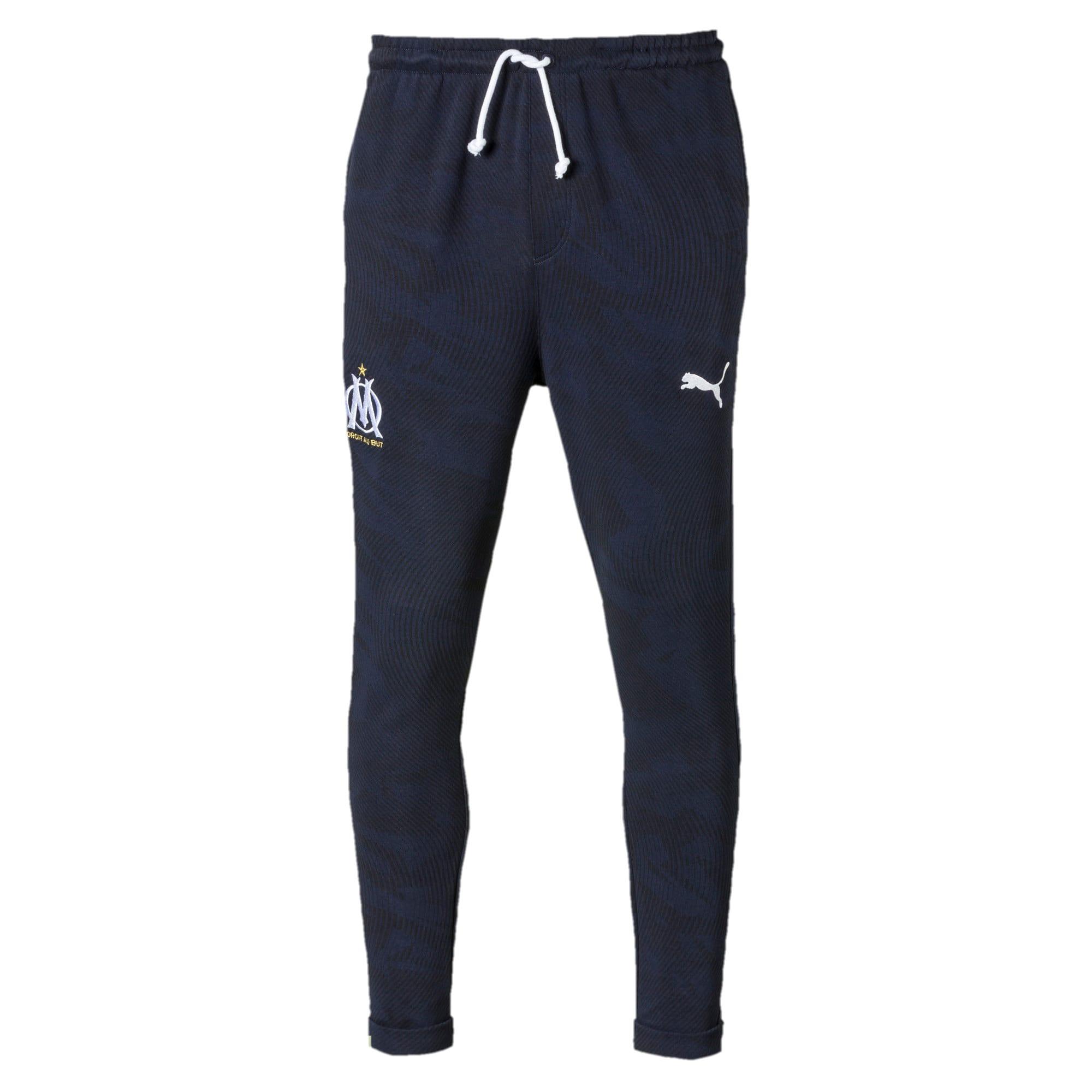 Thumbnail 4 of Olympique de Marseille Casuals Men's Sweatpants, Peacoat, medium