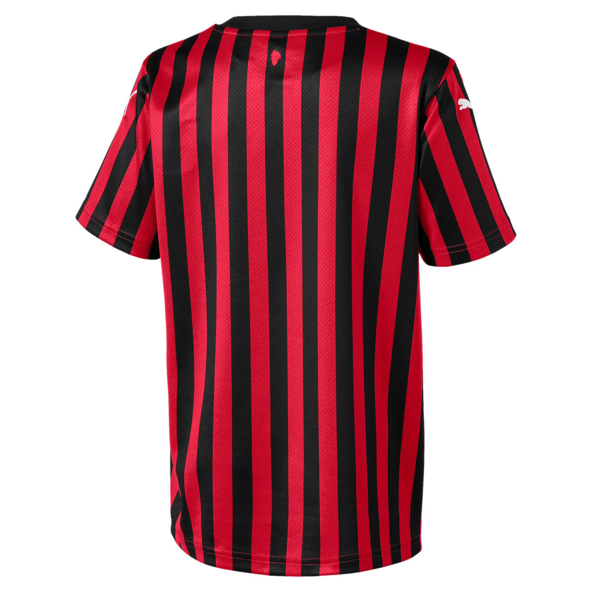 Miniaturka 2 Dziecięca replika koszulki domowej AC Milan, Kolor Tango Red -Puma Black, średnie