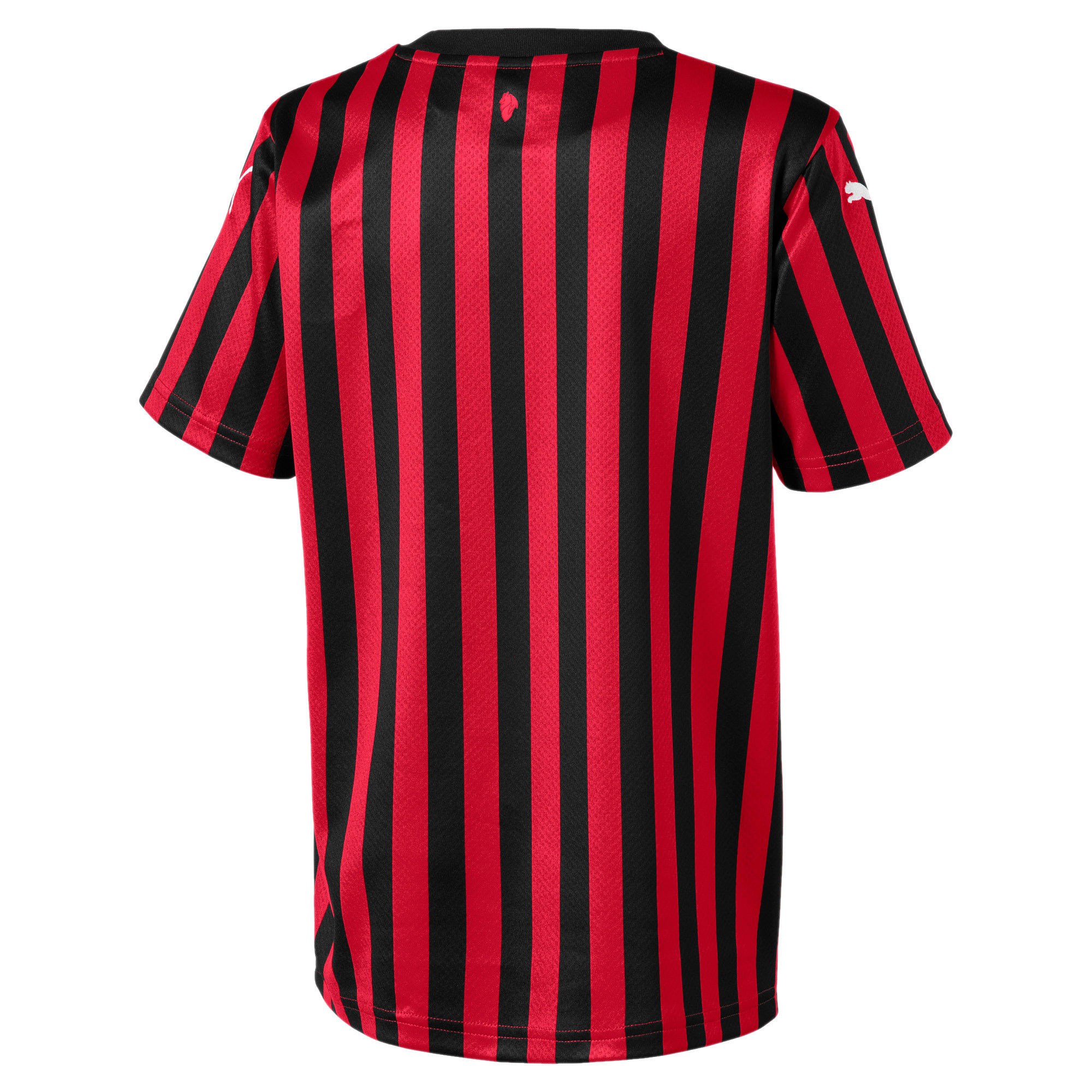 Thumbnail 2 of AC Milan Kid's Replica Jersey, Tango Red -Puma Black, medium