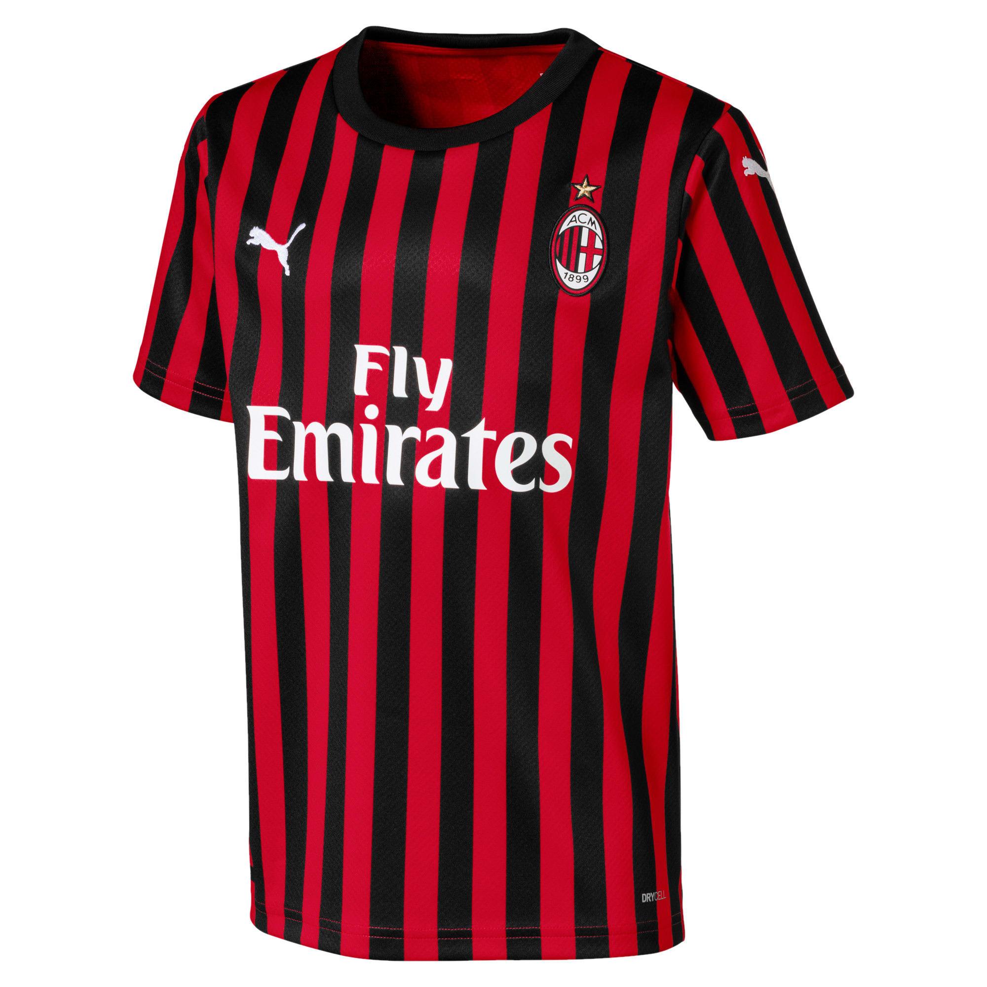 Miniaturka 1 Dziecięca replika koszulki domowej AC Milan, Kolor Tango Red -Puma Black, średnie