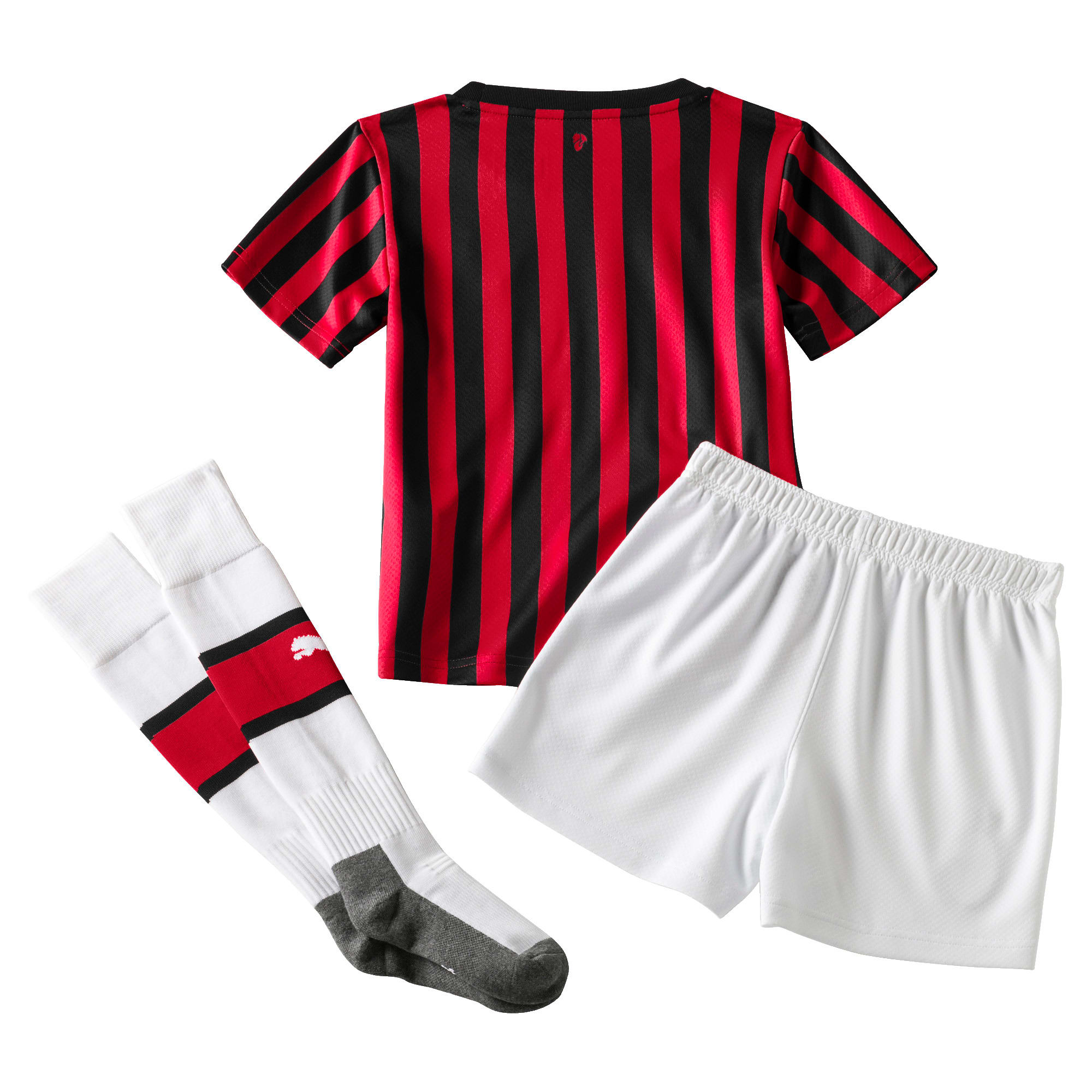 Thumbnail 2 of AC Milan Home Replica Mini Kit, Tango Red -Puma Black, medium