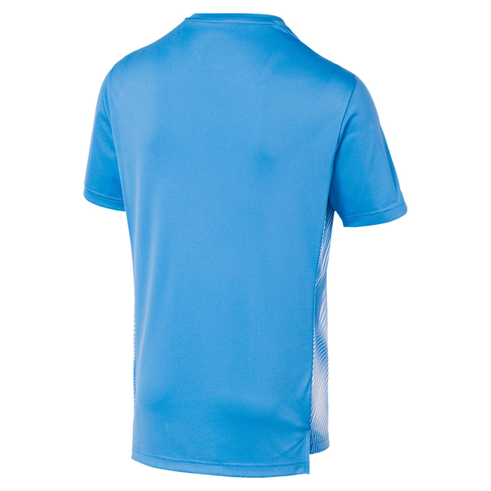 Miniatura 2 de Camiseta Olympique de Marseille Domestic League Stadiumpara hombre, Bleu Azur-Puma White, mediano