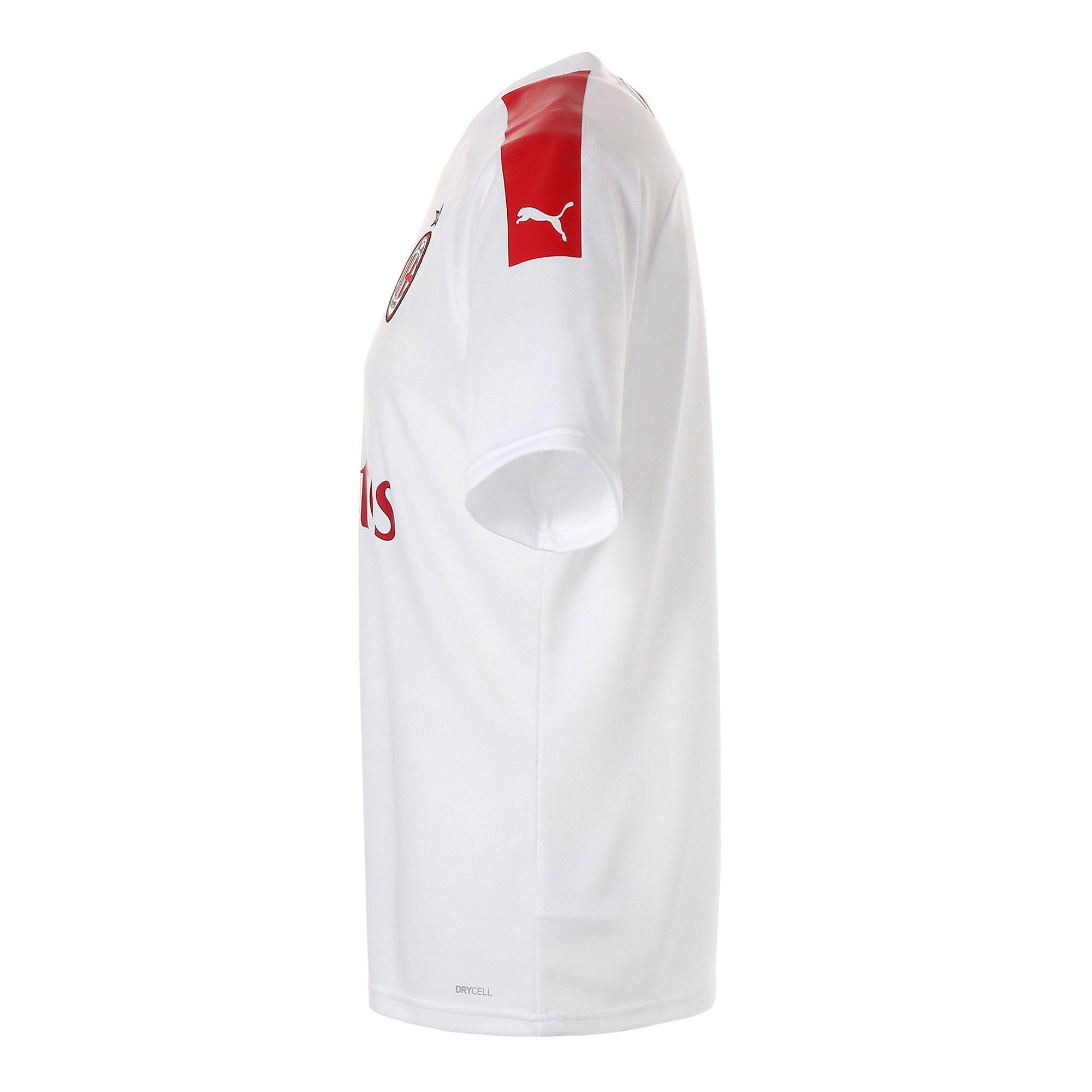 Thumbnail 2 of ACミラン ACM SS アウェイ レプリカシャツ 半袖, Puma White-Tango Red, medium-JPN