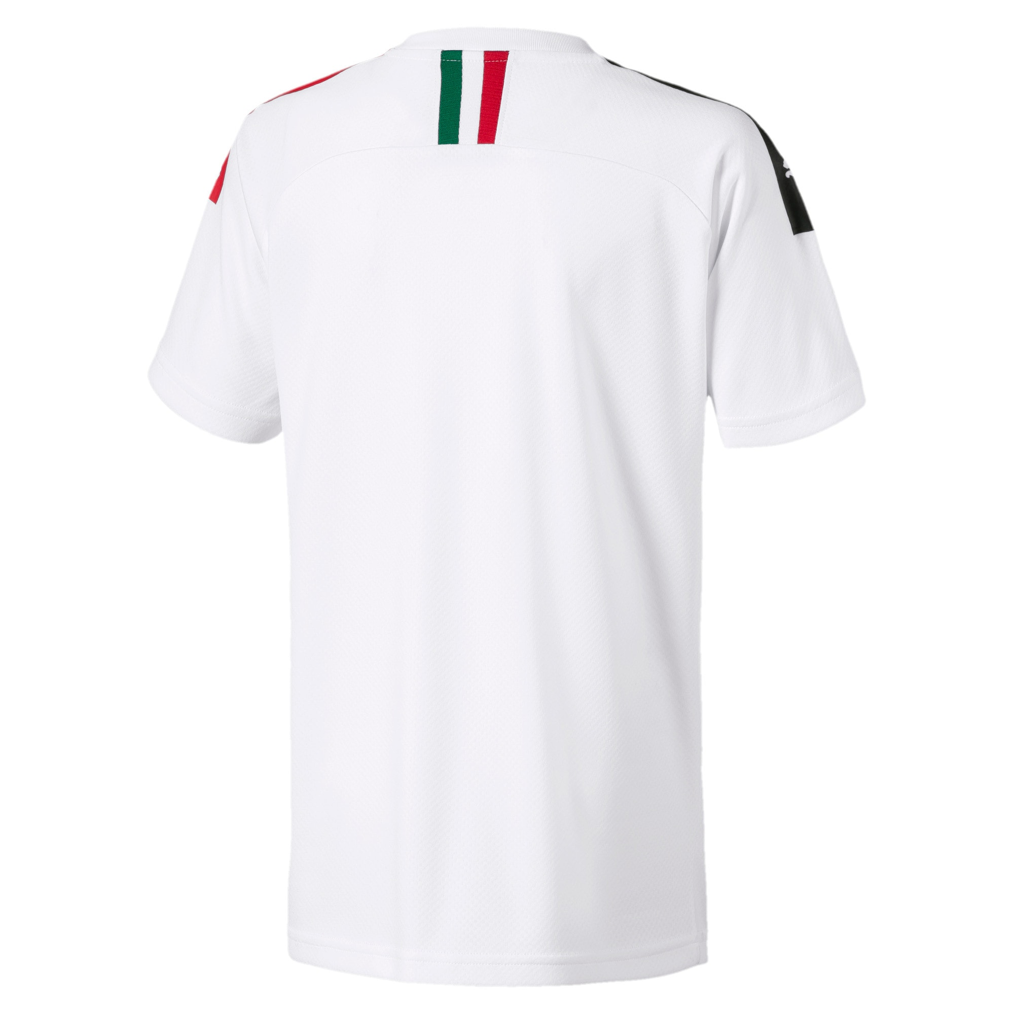 Thumbnail 2 of AC Milan Away Replica Kids' Jersey, Puma White-Tango Red, medium
