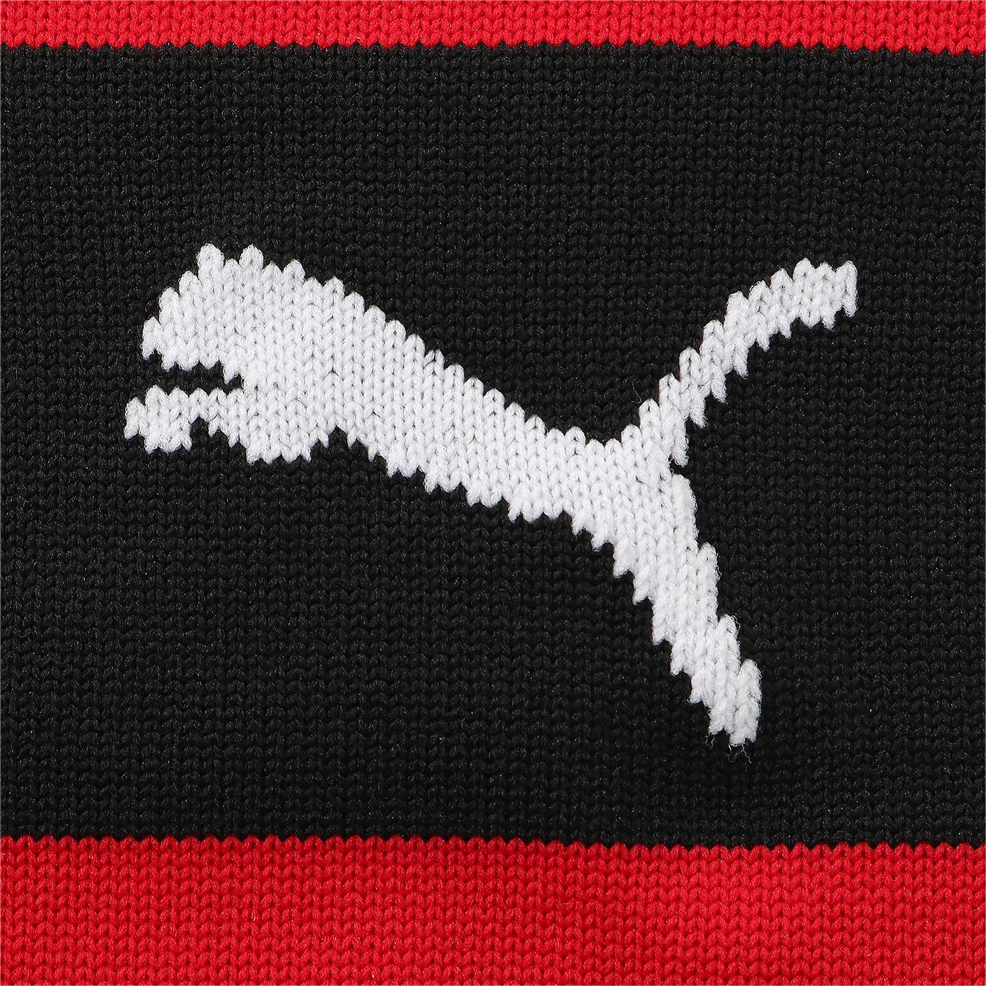 Thumbnail 2 of ACミラン ACM バンド ストッキング, Puma Black-Tango Red, medium-JPN