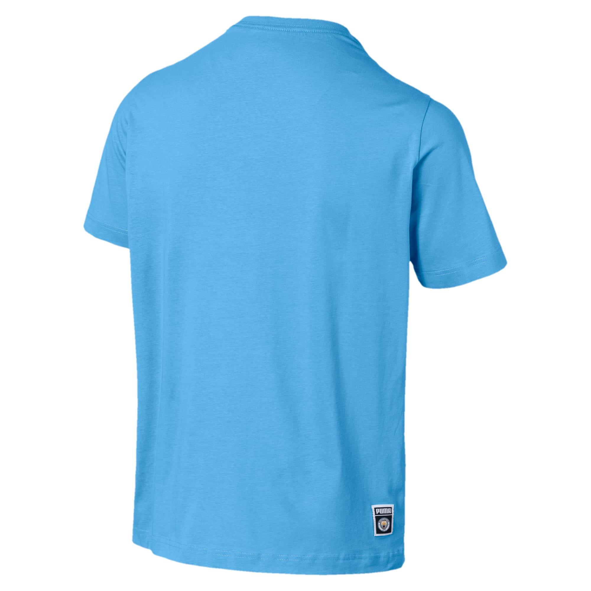 Miniatura 2 de Camiseta Manchester City FC estampada para hombre, Team Light Blue, mediano
