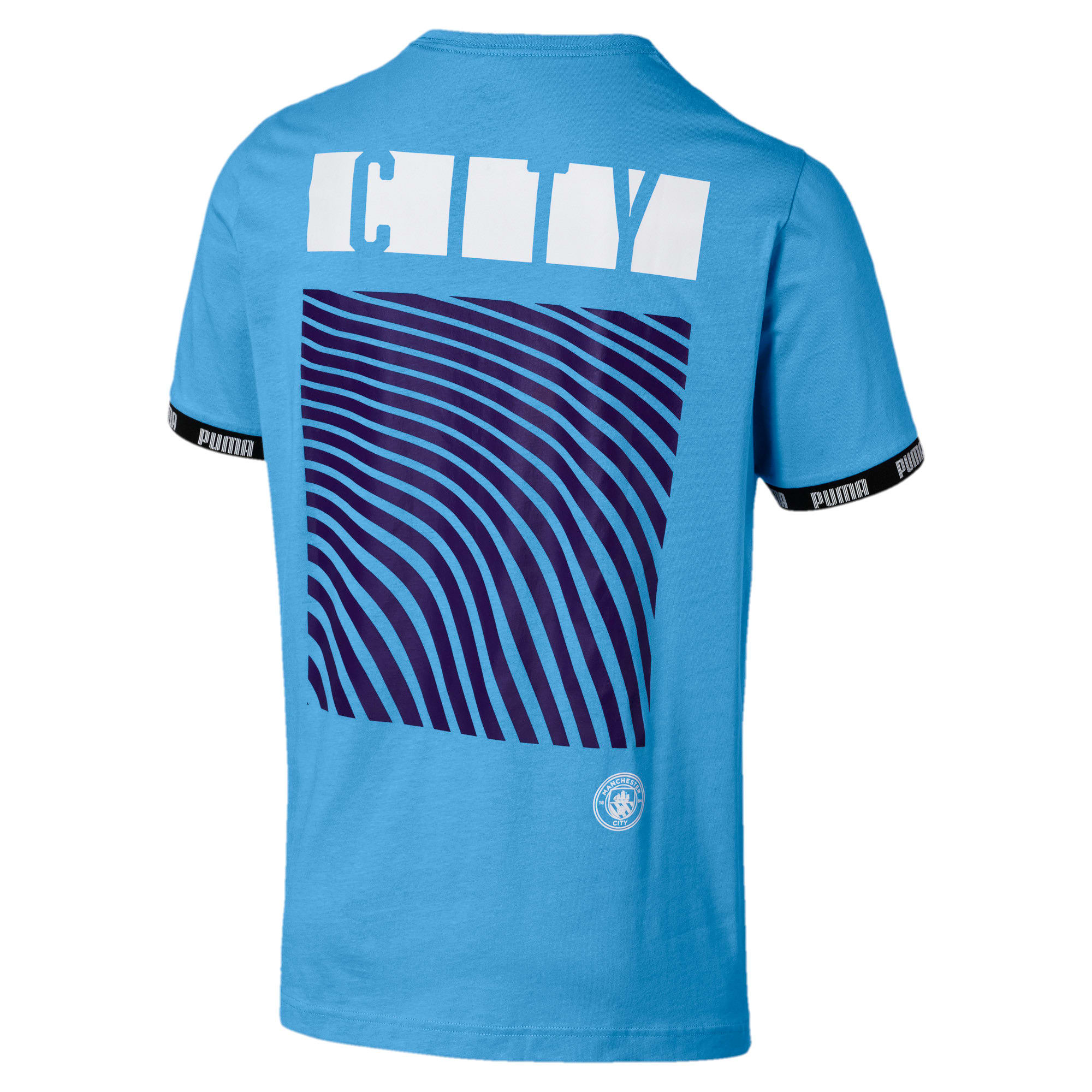 Anteprima 2 di Man City Men's Football Culture Tee, Team Light Blue, medio