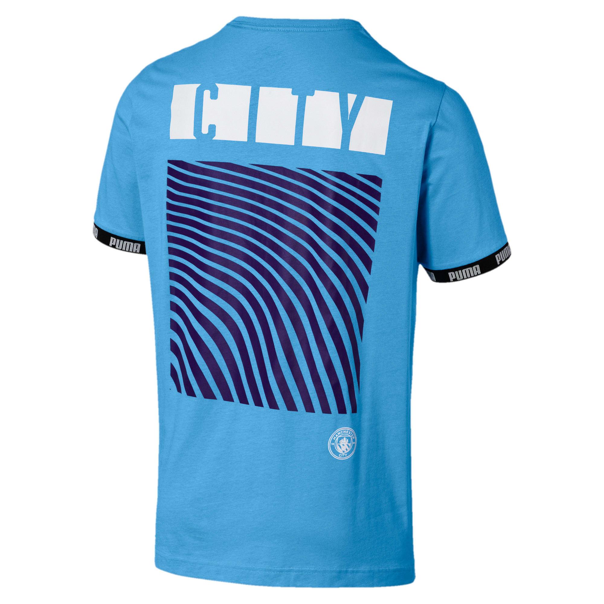Thumbnail 2 of Manchester City FC FtblCulture Men's Tee, Team Light Blue, medium