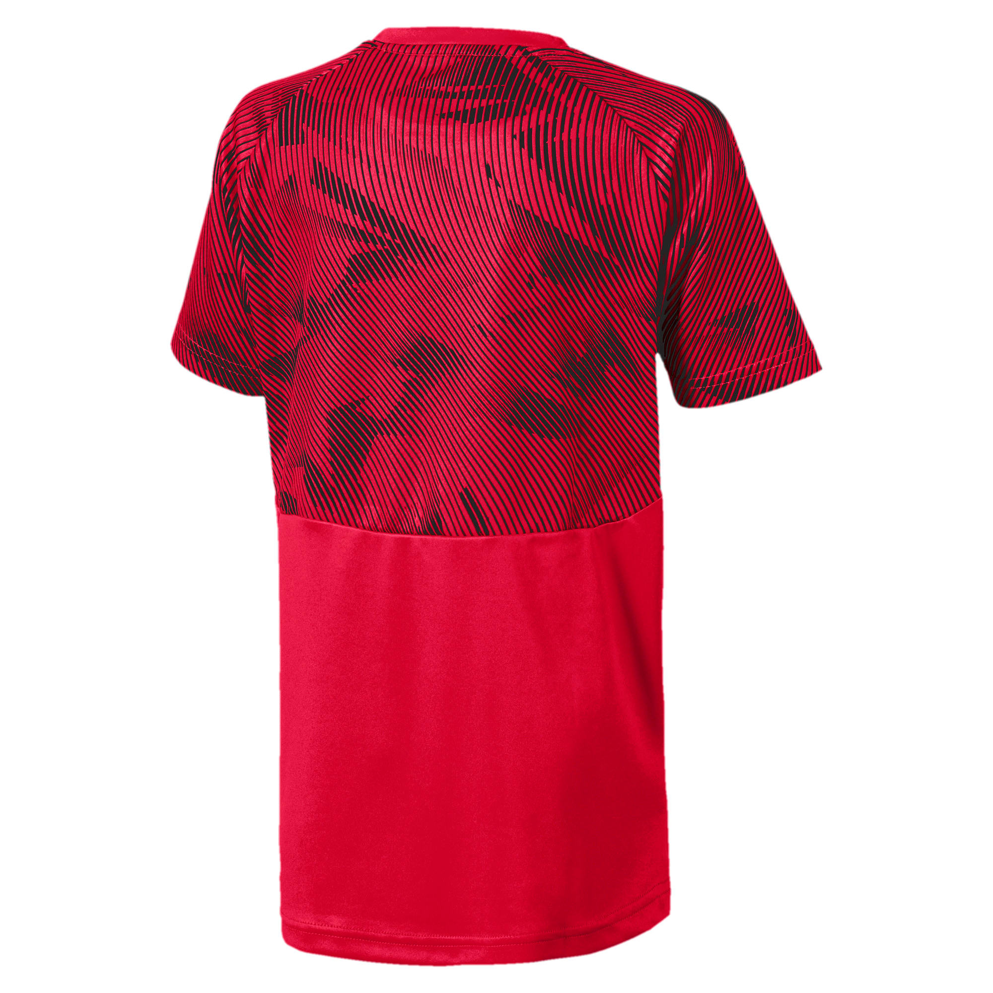 Miniatura 2 de Camiseta deportivaAC Milan para niño joven, Tango Red -Puma Black, mediano