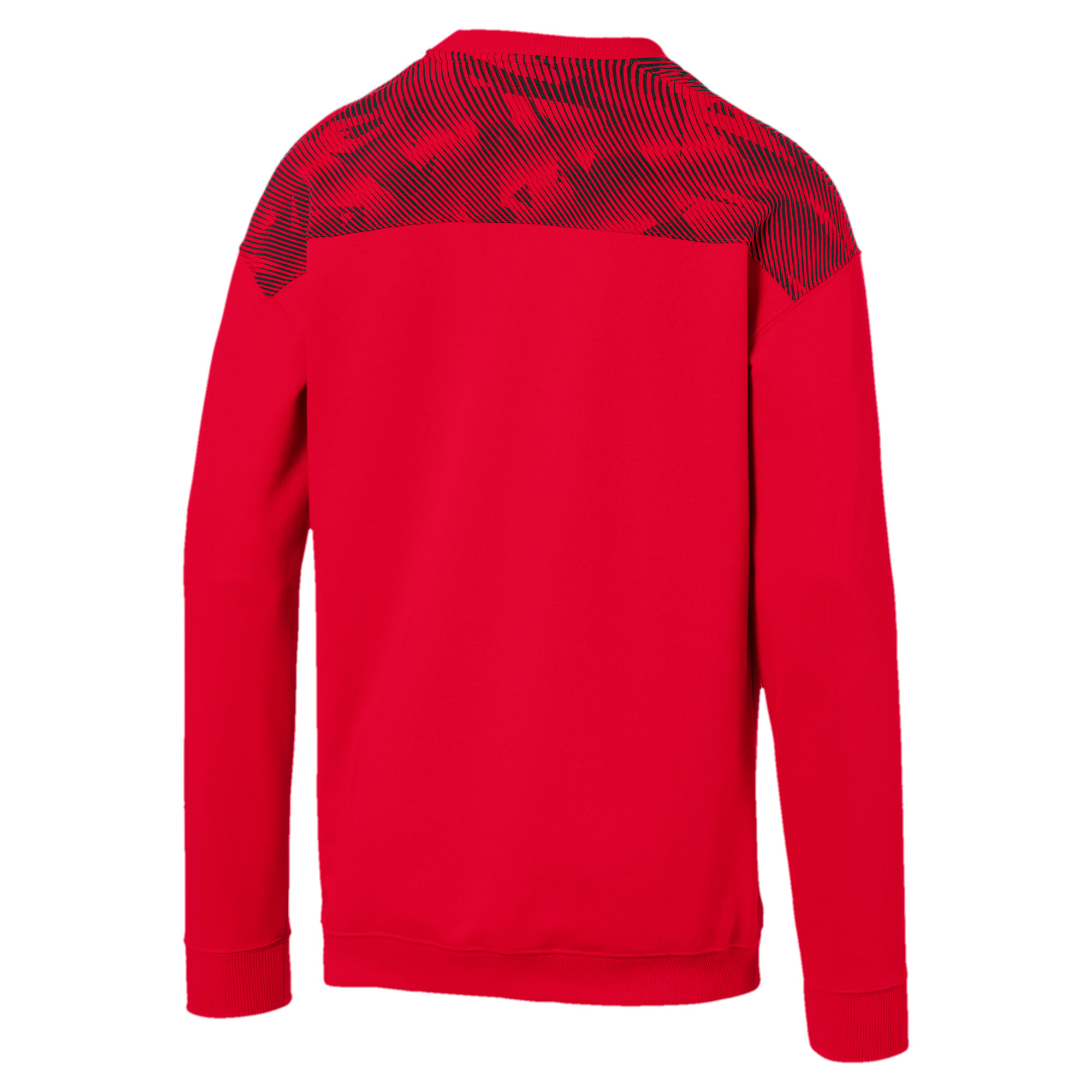 Thumbnail 5 of AC Milan Casuals Men's Sweater, Tango Red -Puma Black, medium