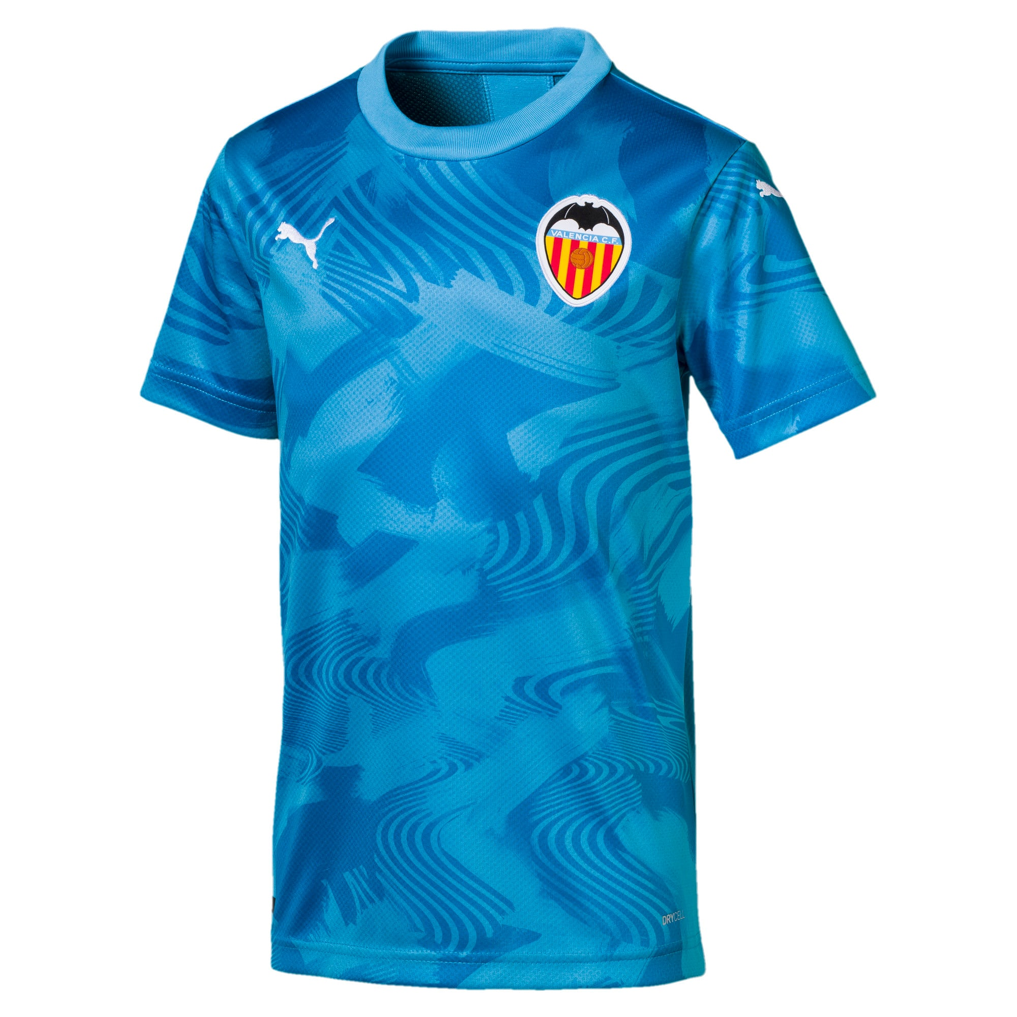 Thumbnail 1 of Valencia CF Third Replica Kids' Shirt, Bleu Azur-Indigo Bunting, medium