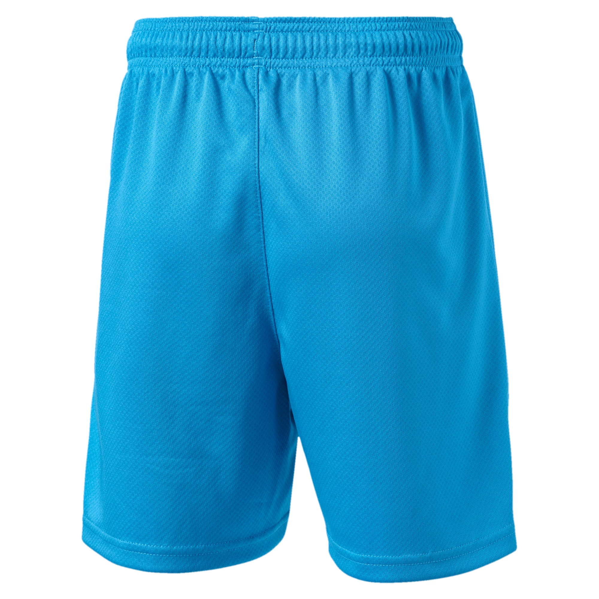 Thumbnail 2 of Valencia CF Jungen Replica Shorts, Bleu Azur-Puma White, medium