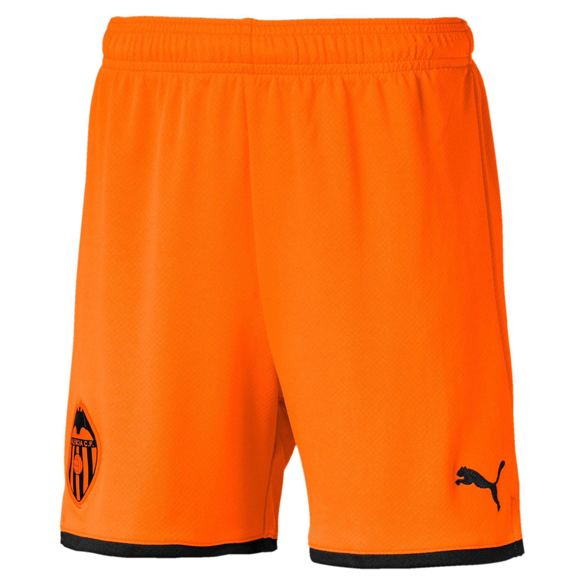 Imagen en miniatura 1 de Shorts de réplica de niño Valencia CF, Vibrant Orange-Puma Black, mediana