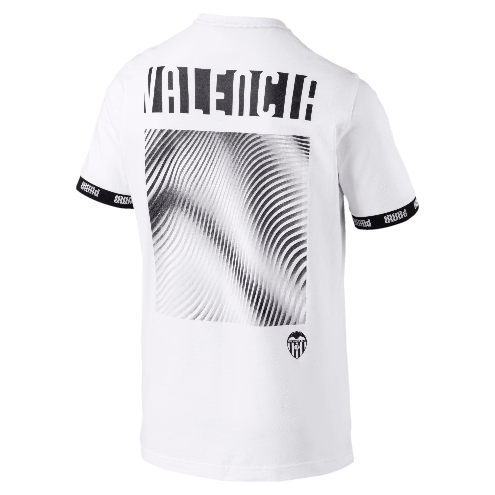 Thumbnail 2 van Valencia CF Football Culture T-shirt voor mannen, Puma White, medium