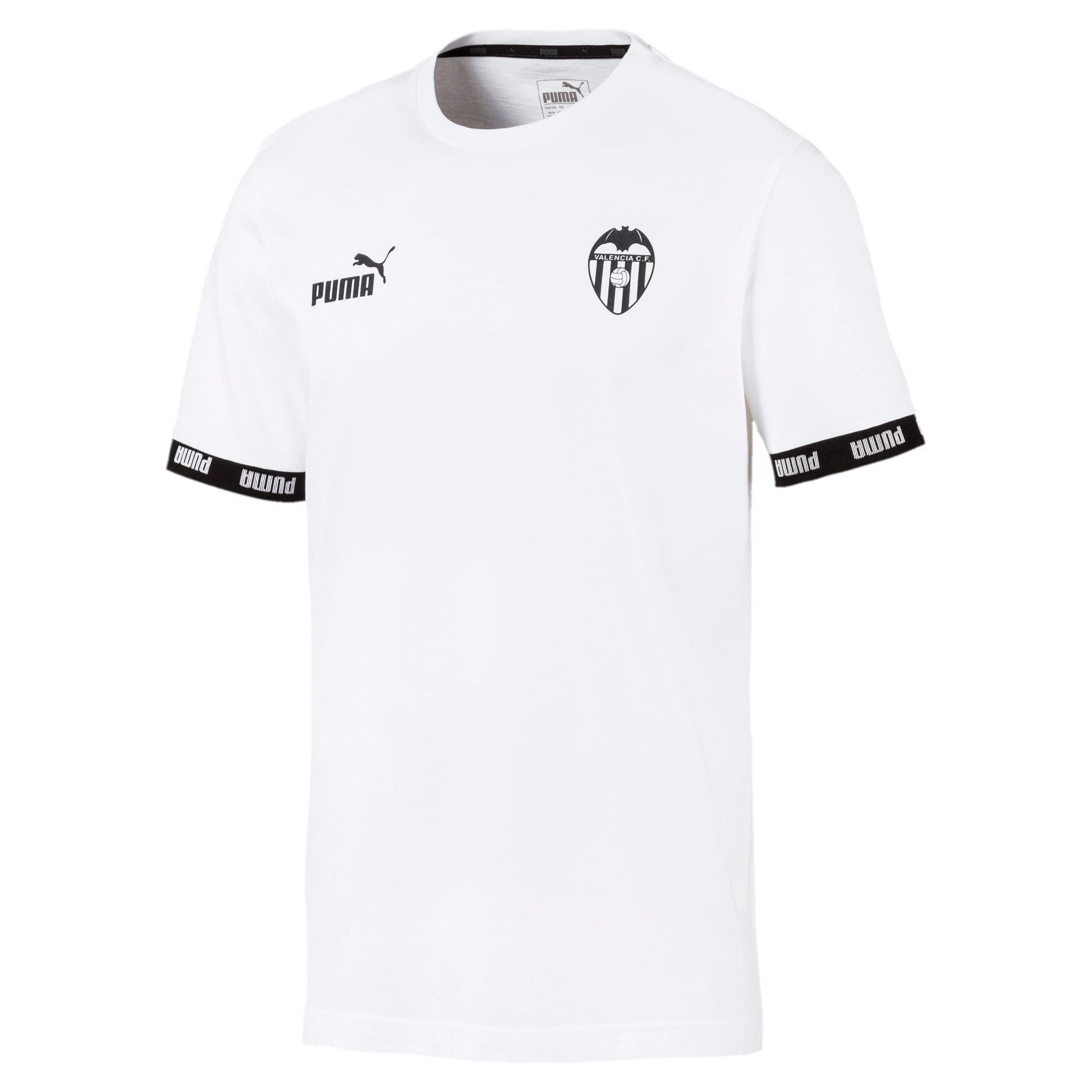 Thumbnail 1 van Valencia CF Football Culture T-shirt voor mannen, Puma White, medium